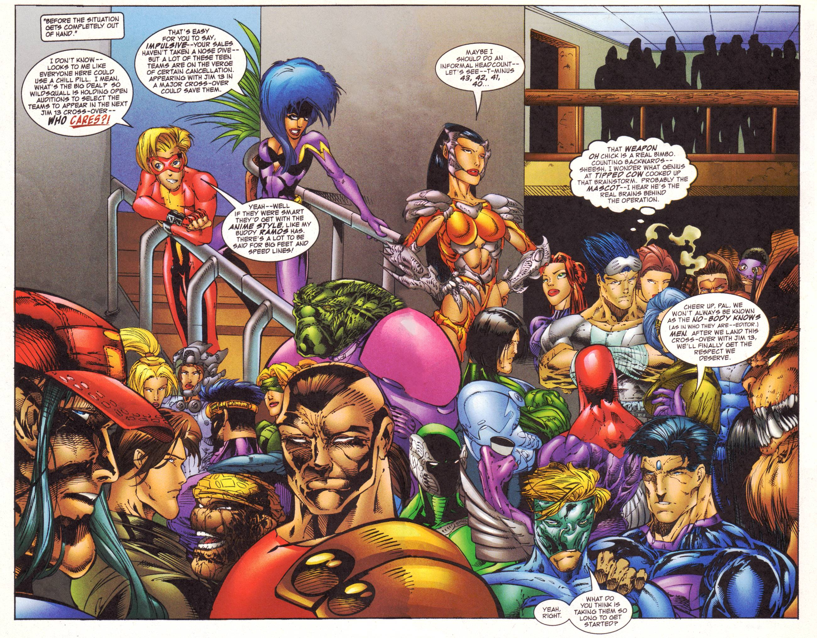 Read online Avengeblade comic -  Issue #2 - 4