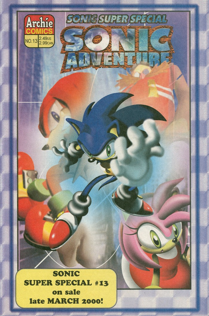 Read online Sonic Super Special comic -  Issue #12 - Sonic and Knuckles visa versa - 43