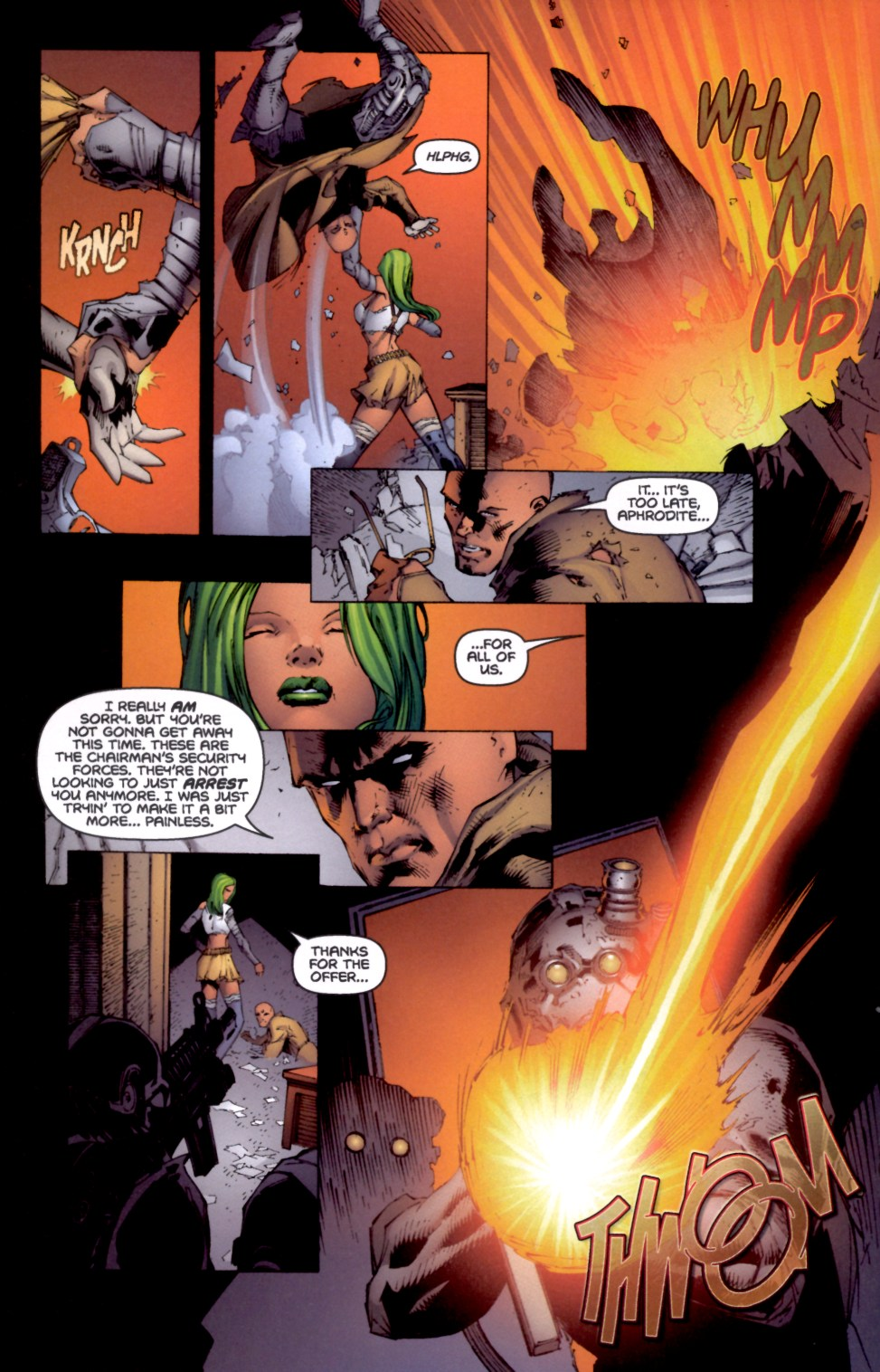 Read online Aphrodite IX (2000) comic -  Issue #4 - 7