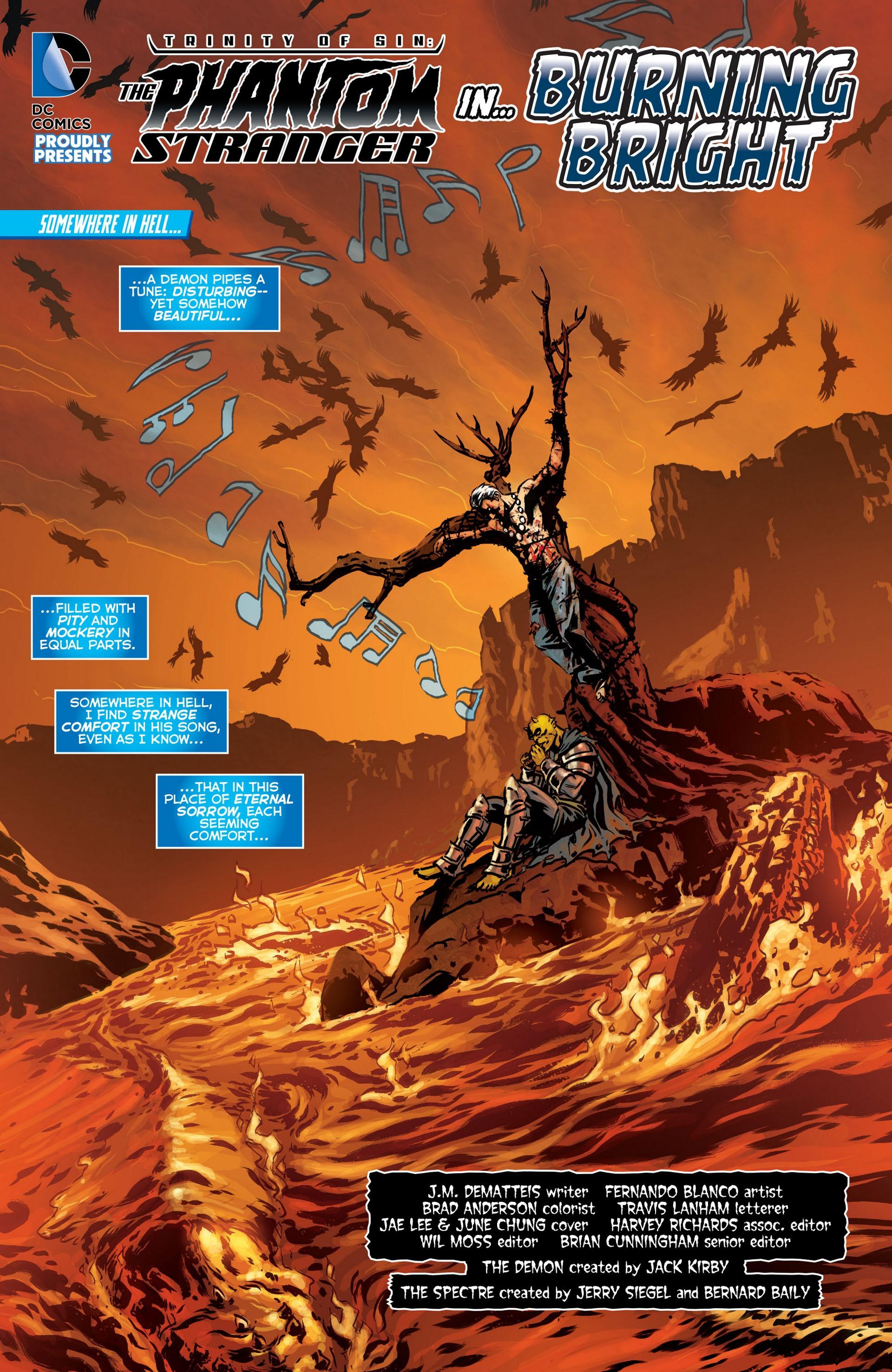 Read online Trinity of Sin: The Phantom Stranger comic -  Issue #9 - 2