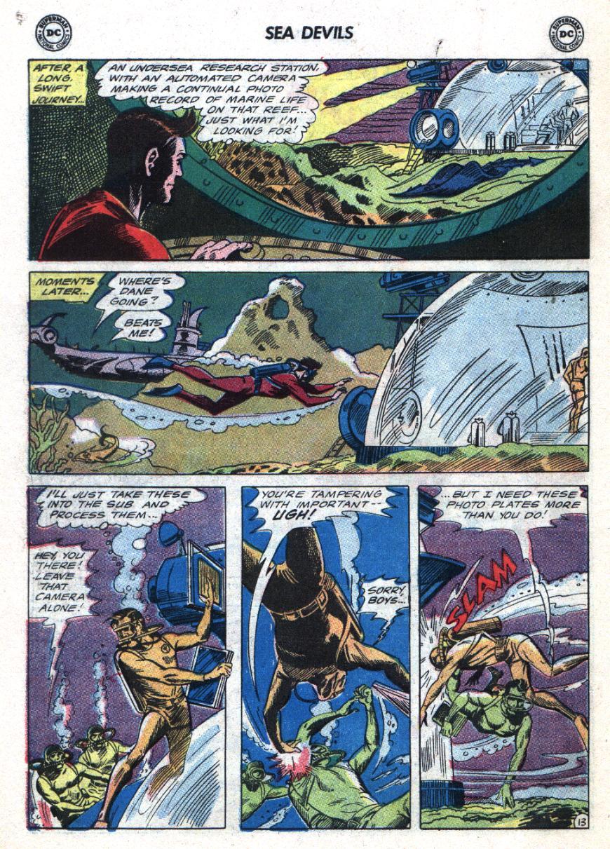 Read online Sea Devils comic -  Issue #24 - 19