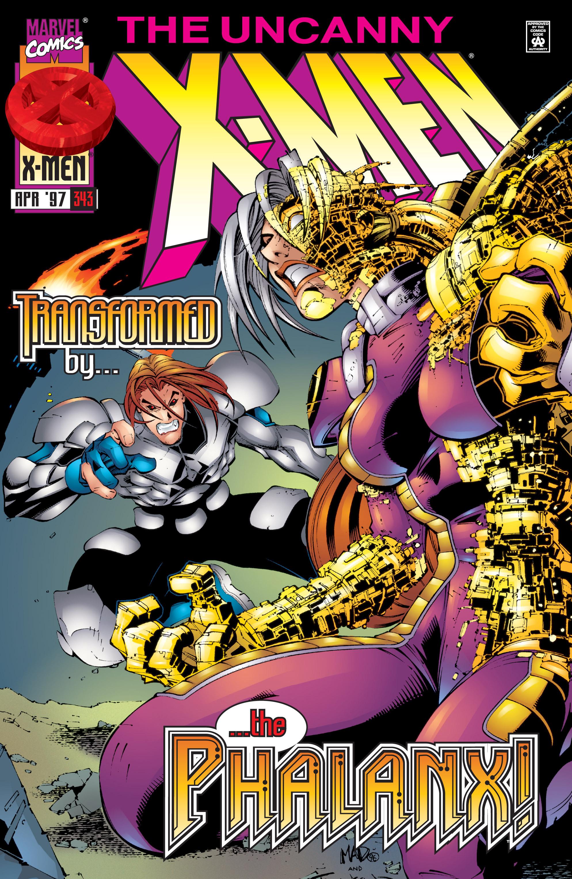 Read online Uncanny X-Men (1963) comic -  Issue #343 - 1