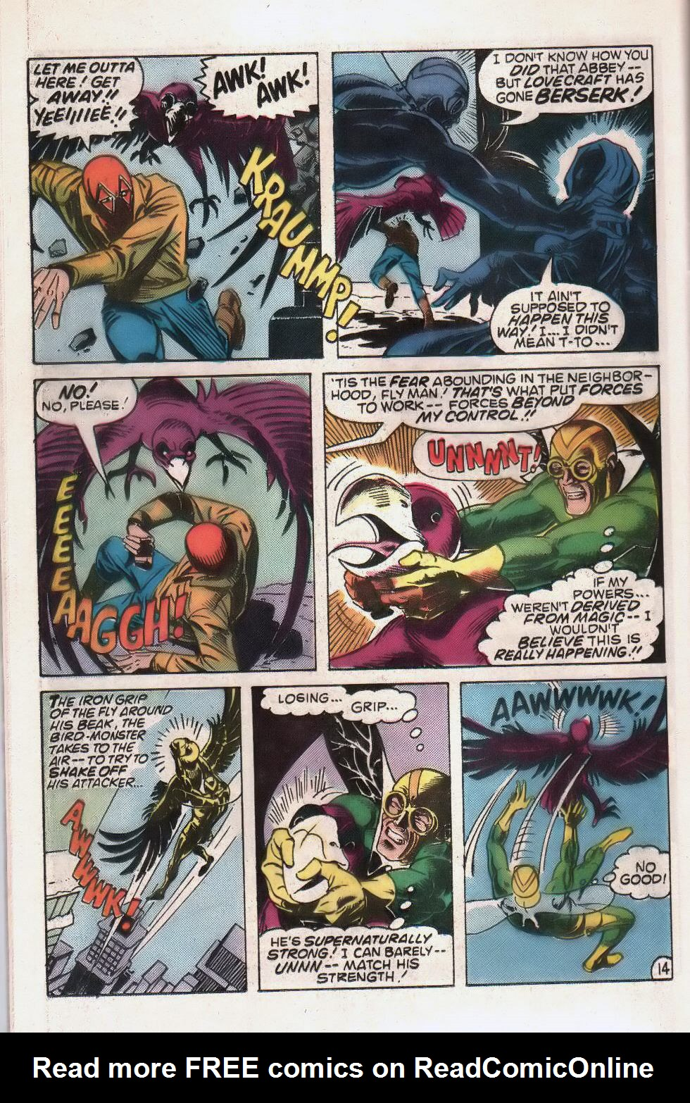 Read online The Fly (1983) comic -  Issue #2 - 24
