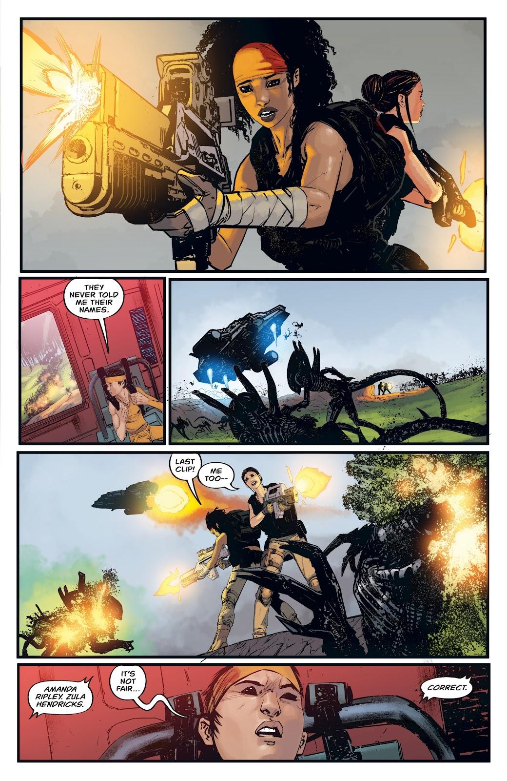 Read online Aliens: Resistance comic -  Issue #4 - 19