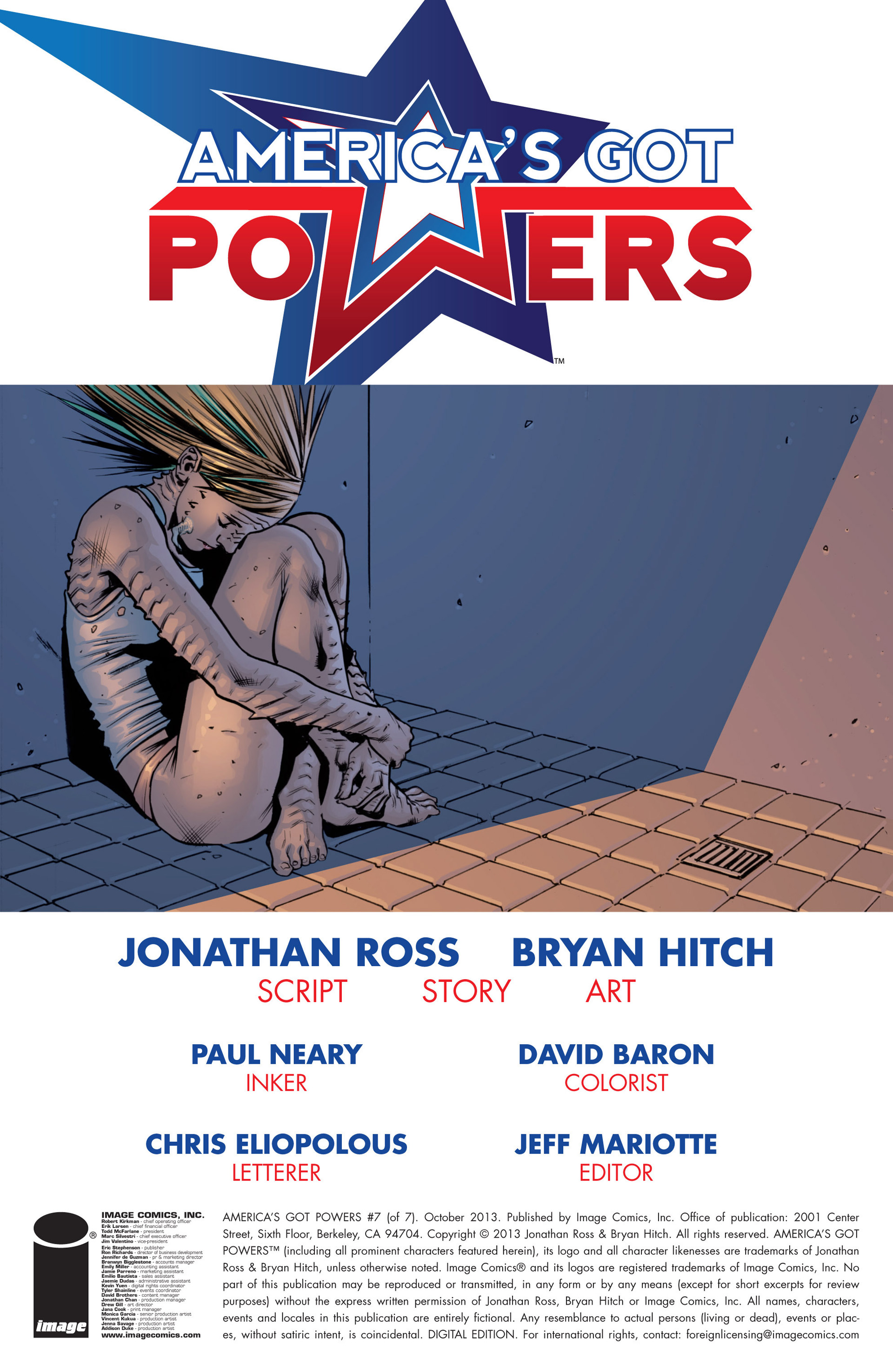Read online America's Got Powers comic -  Issue #7 - 3