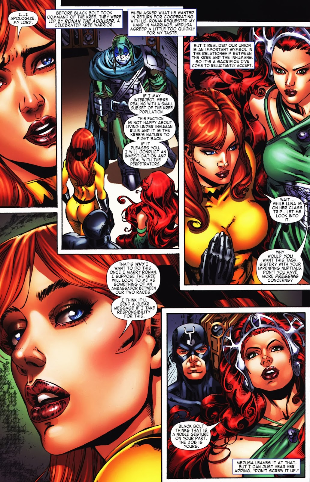 War of Kings: Warriors Issue #2 #2 - English 5