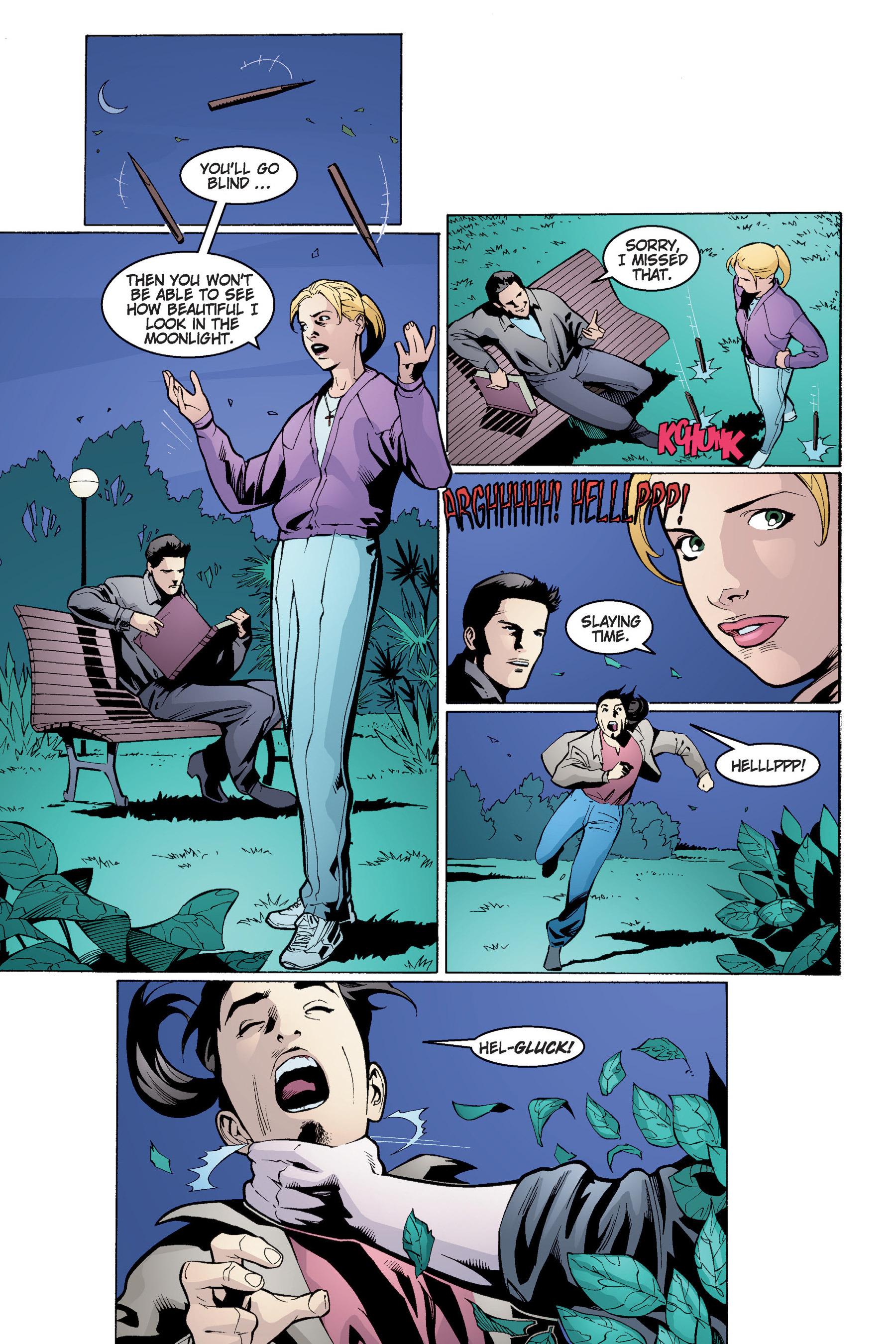 Read online Buffy the Vampire Slayer: Omnibus comic -  Issue # TPB 4 - 99