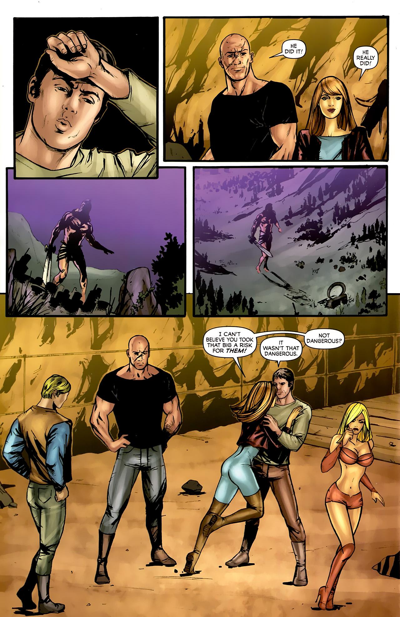 Read online Stargate: Daniel Jackson comic -  Issue #4 - 8