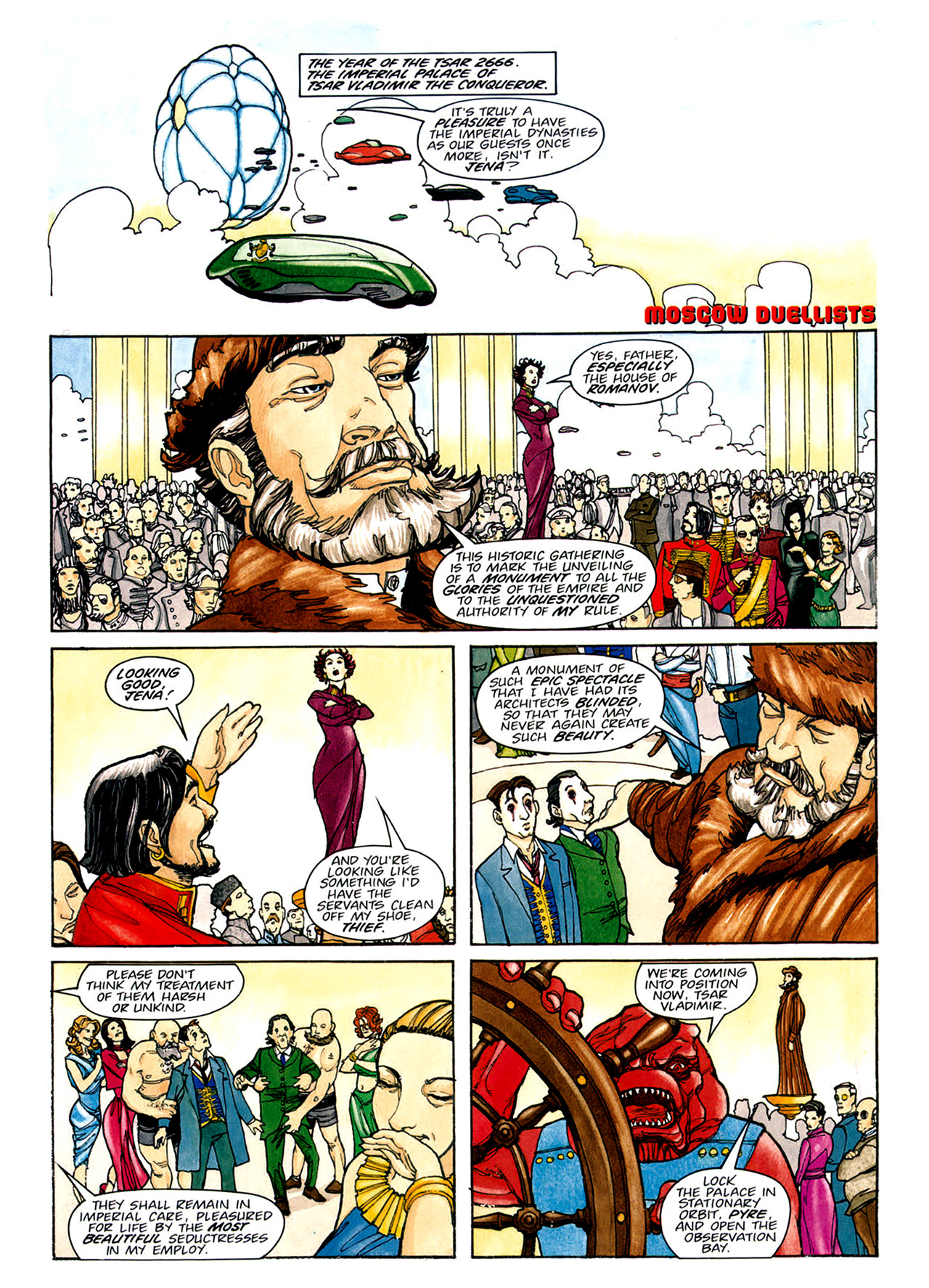 Read online Nikolai Dante comic -  Issue # TPB 1 - 132