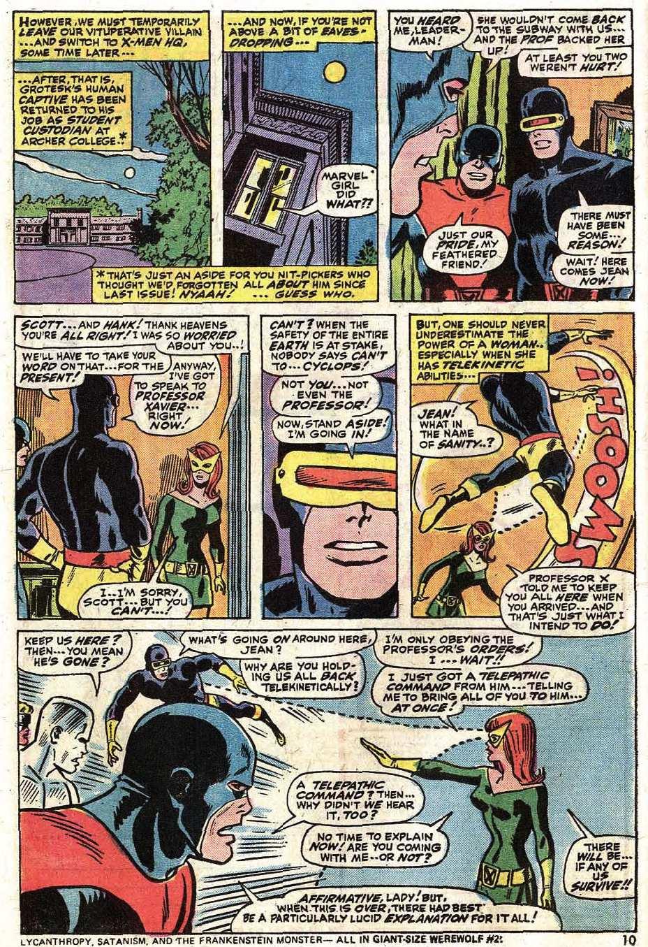 Uncanny X-Men (1963) 90 Page 11