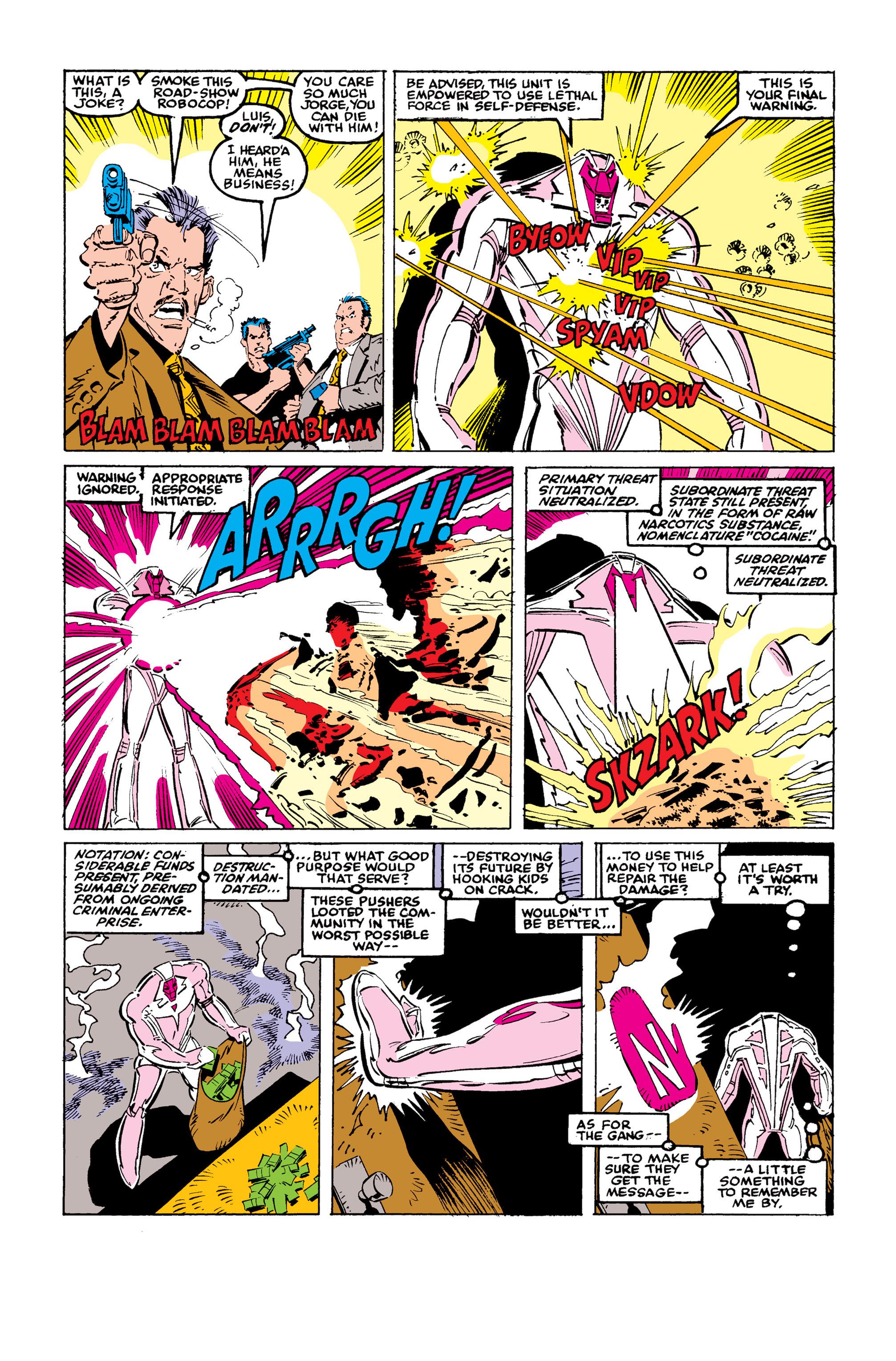 Read online Uncanny X-Men (1963) comic -  Issue #246 - 7