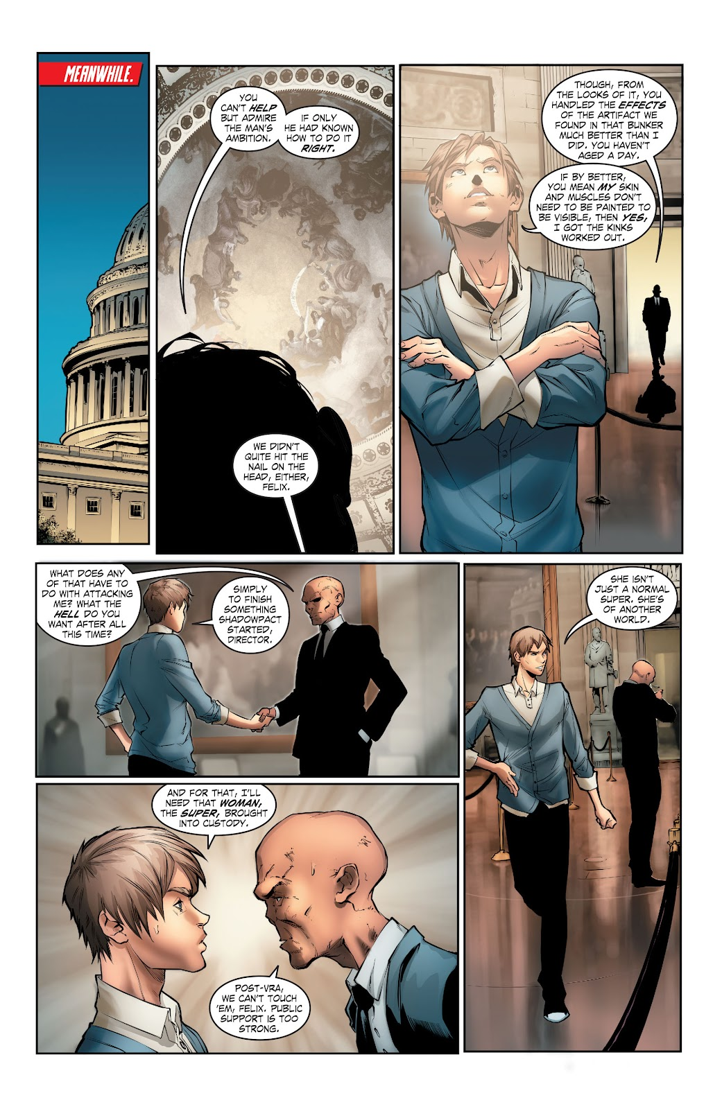 Read online Smallville Season 11 [II] comic -  Issue # TPB 5 - 53