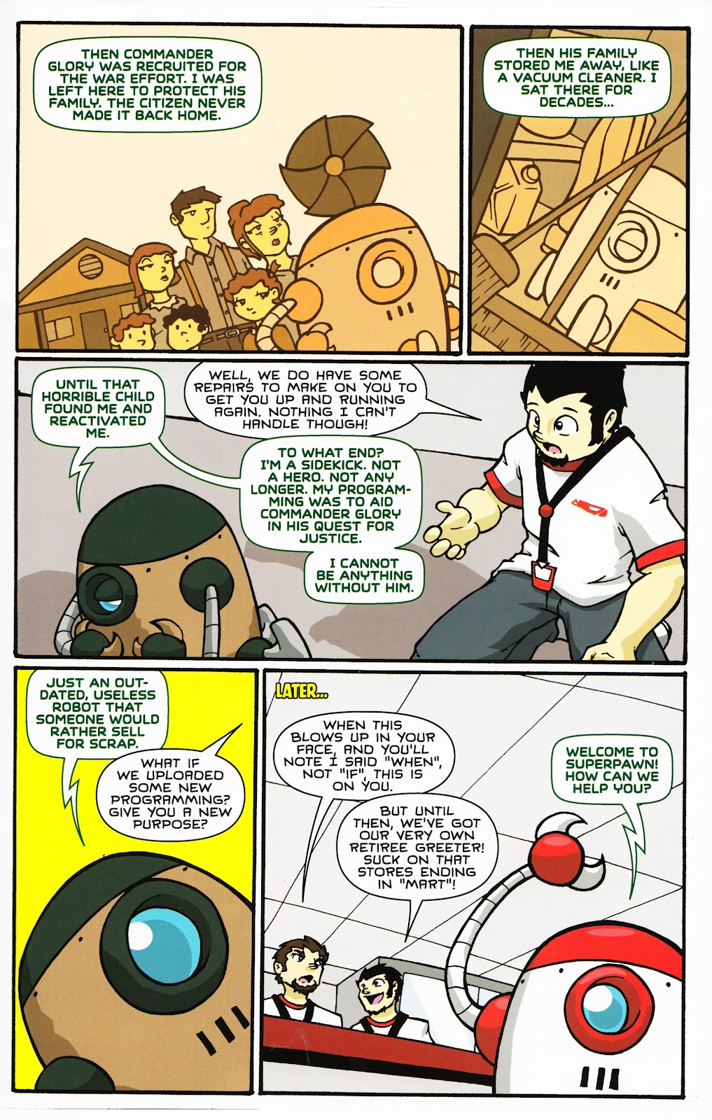 Read online Critter (2012) comic -  Issue #14 - 28