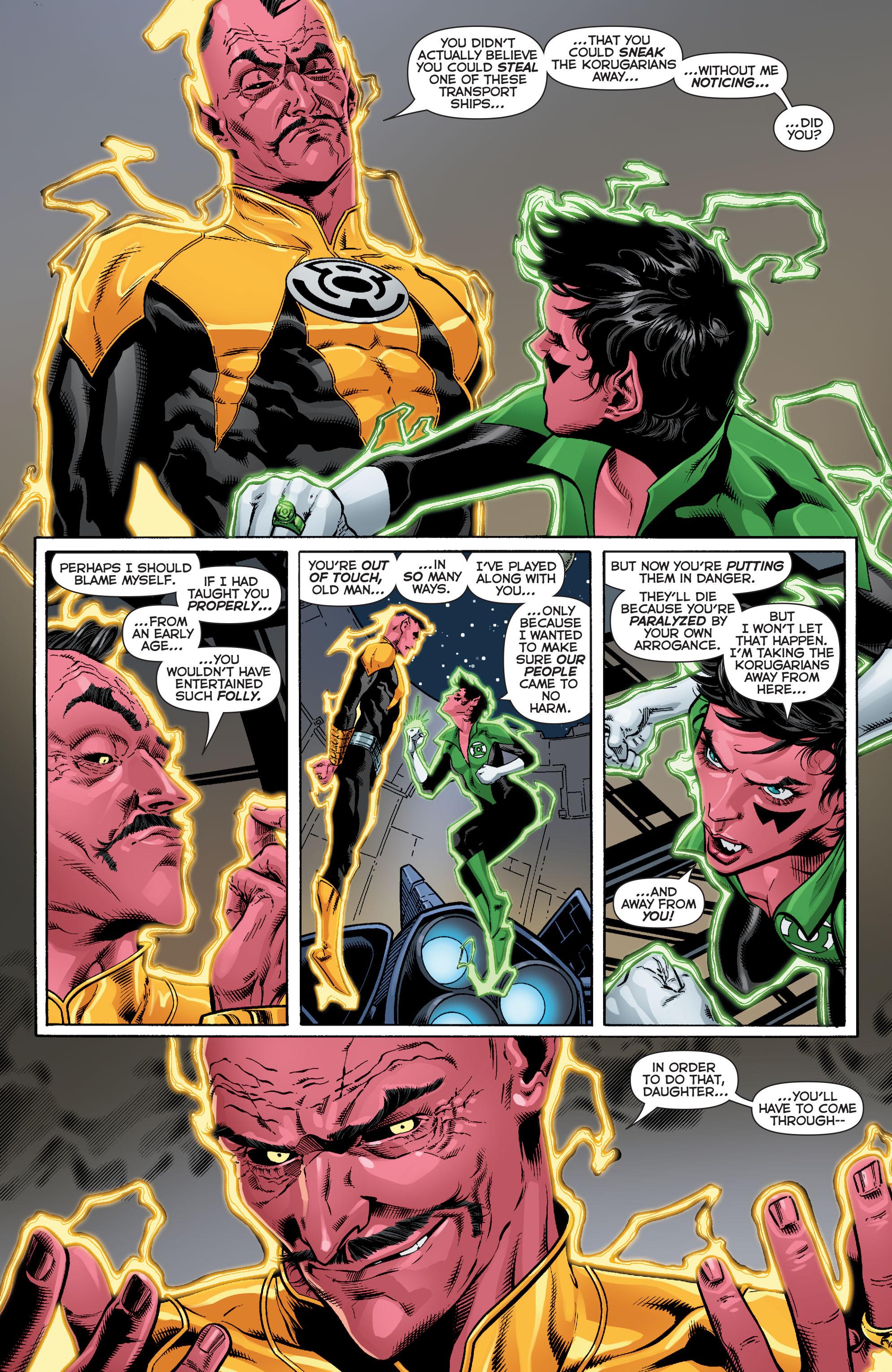 Read online Sinestro comic -  Issue #12 - 15