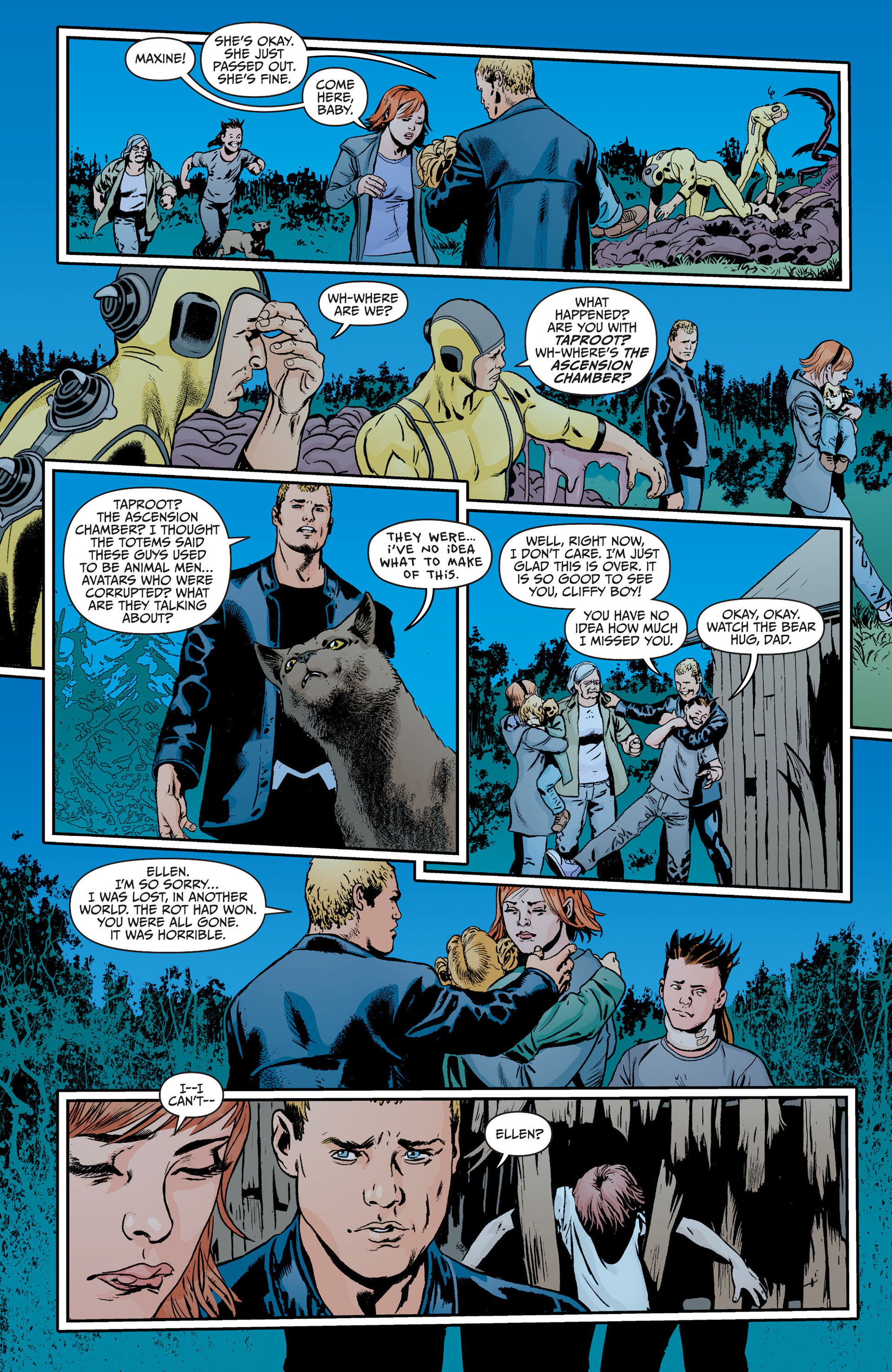 Read online Animal Man (2011) comic -  Issue #18 - 17