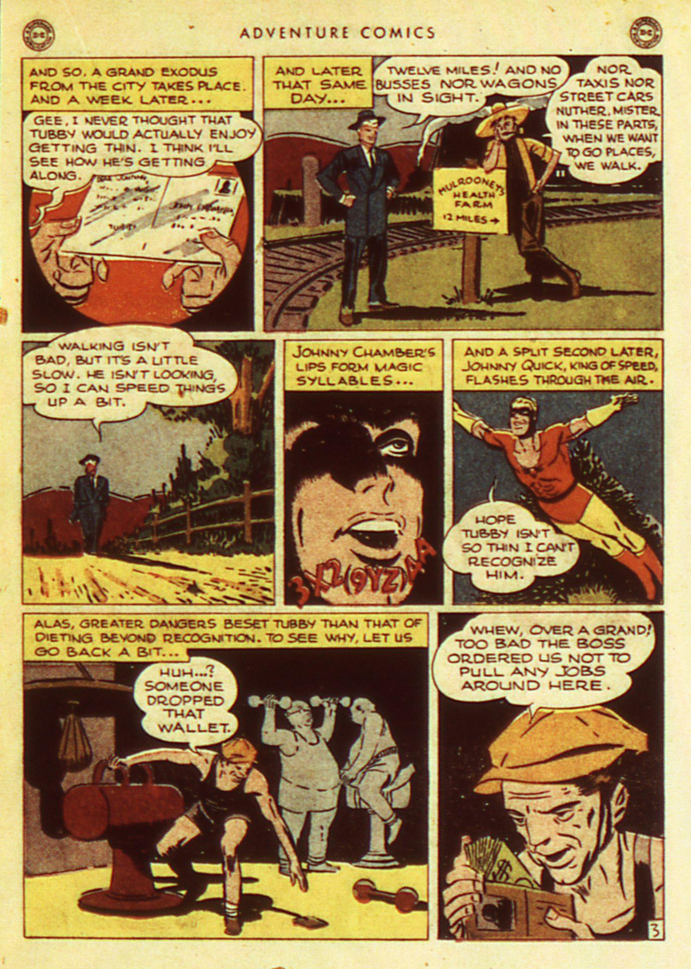 Read online Adventure Comics (1938) comic -  Issue #105 - 23