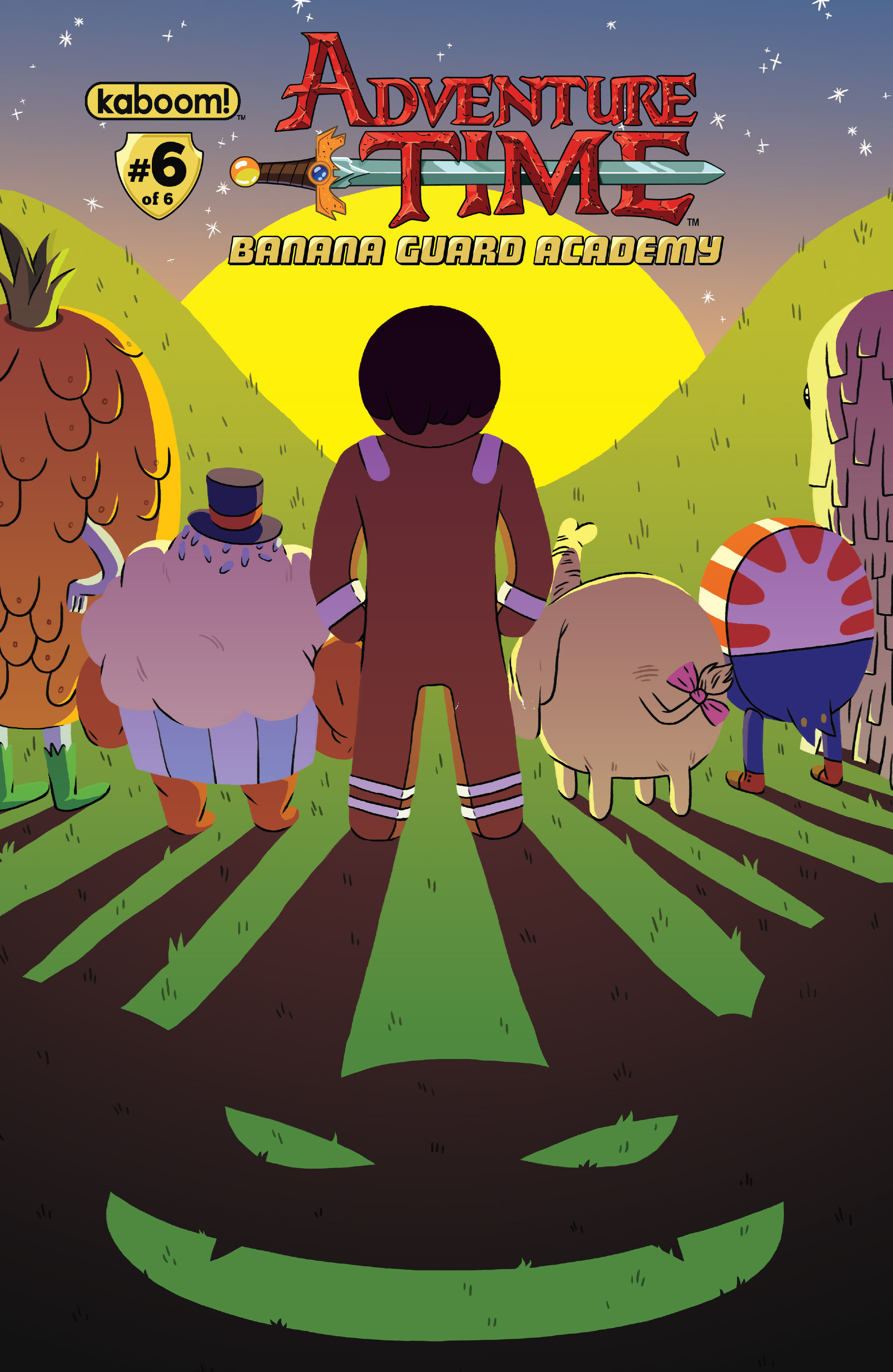 Adventure Time: Banana Guard Academ 6 Page 1