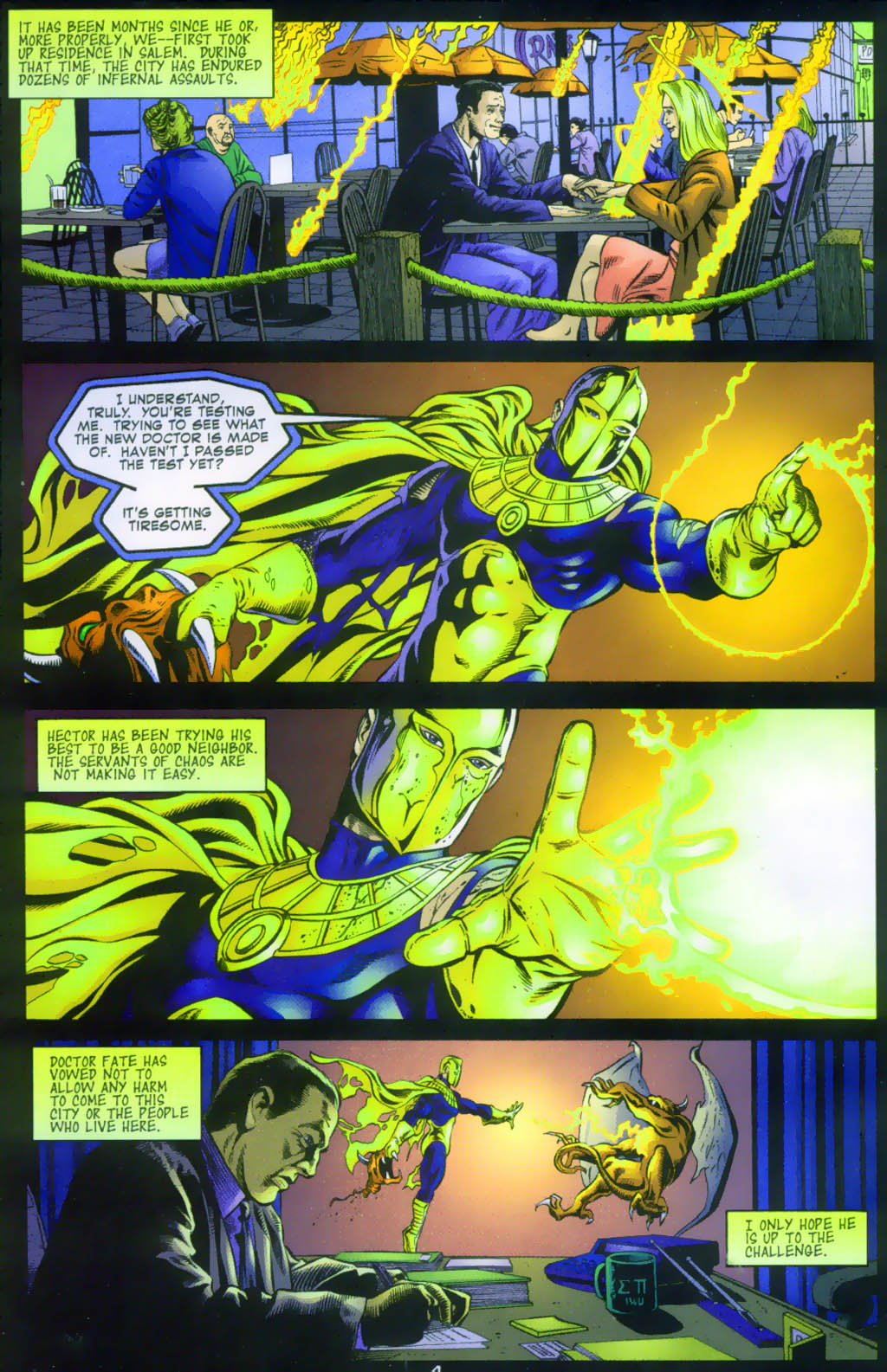 Read online Doctor Fate (2003) comic -  Issue #1 - 4