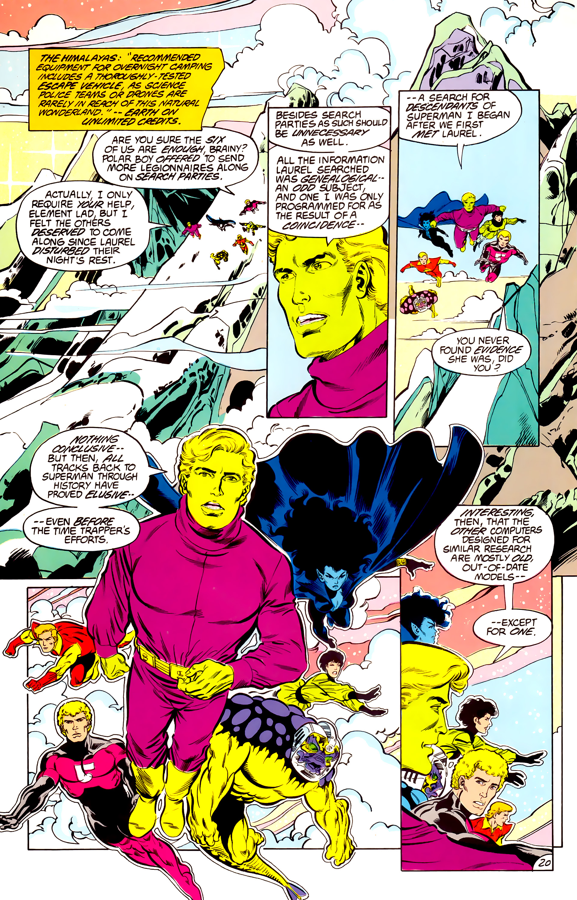 Legion of Super-Heroes (1984) 42 Page 20