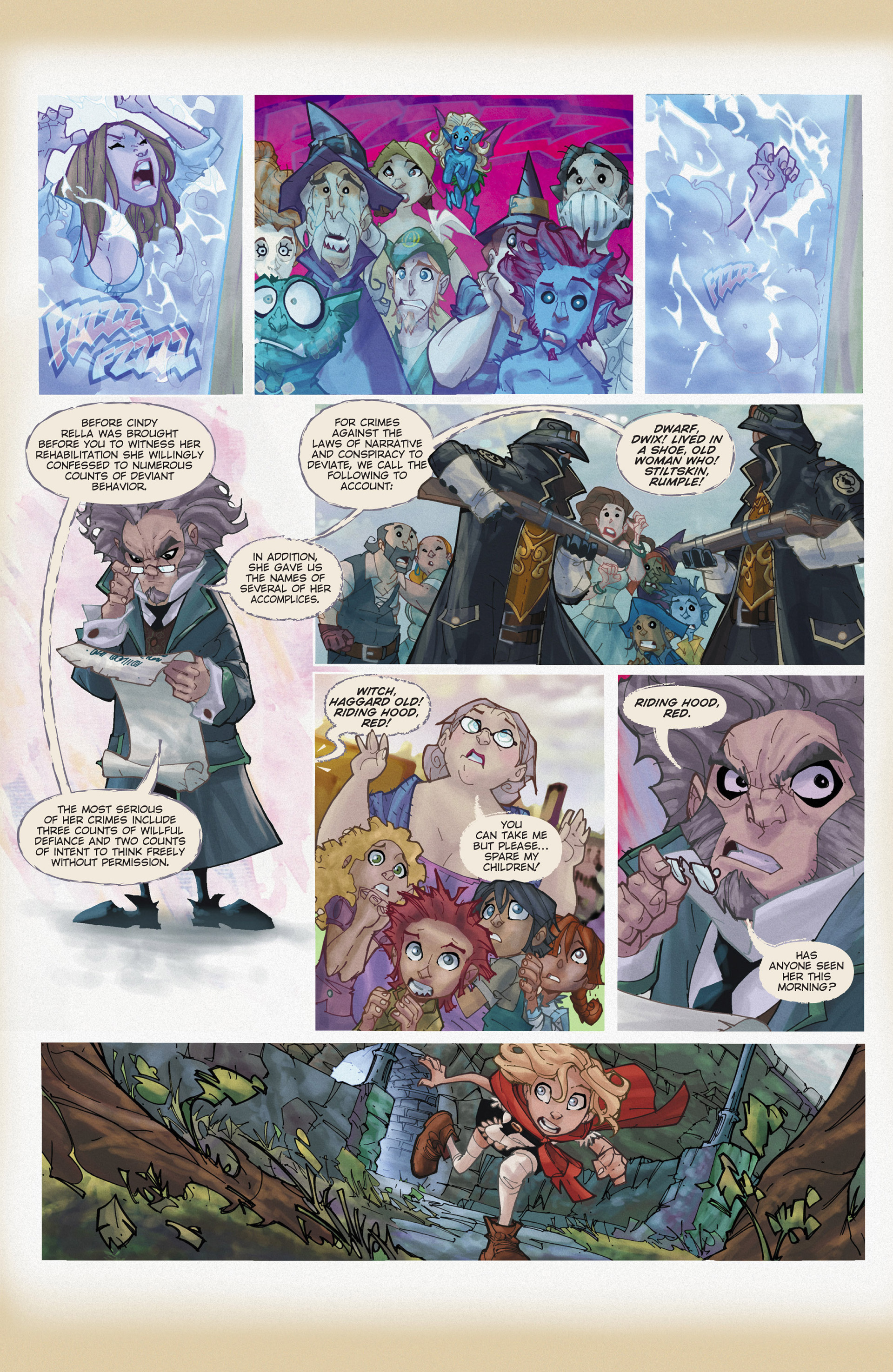 Read online Fairy Quest: Outlaws comic -  Issue #1 - 17