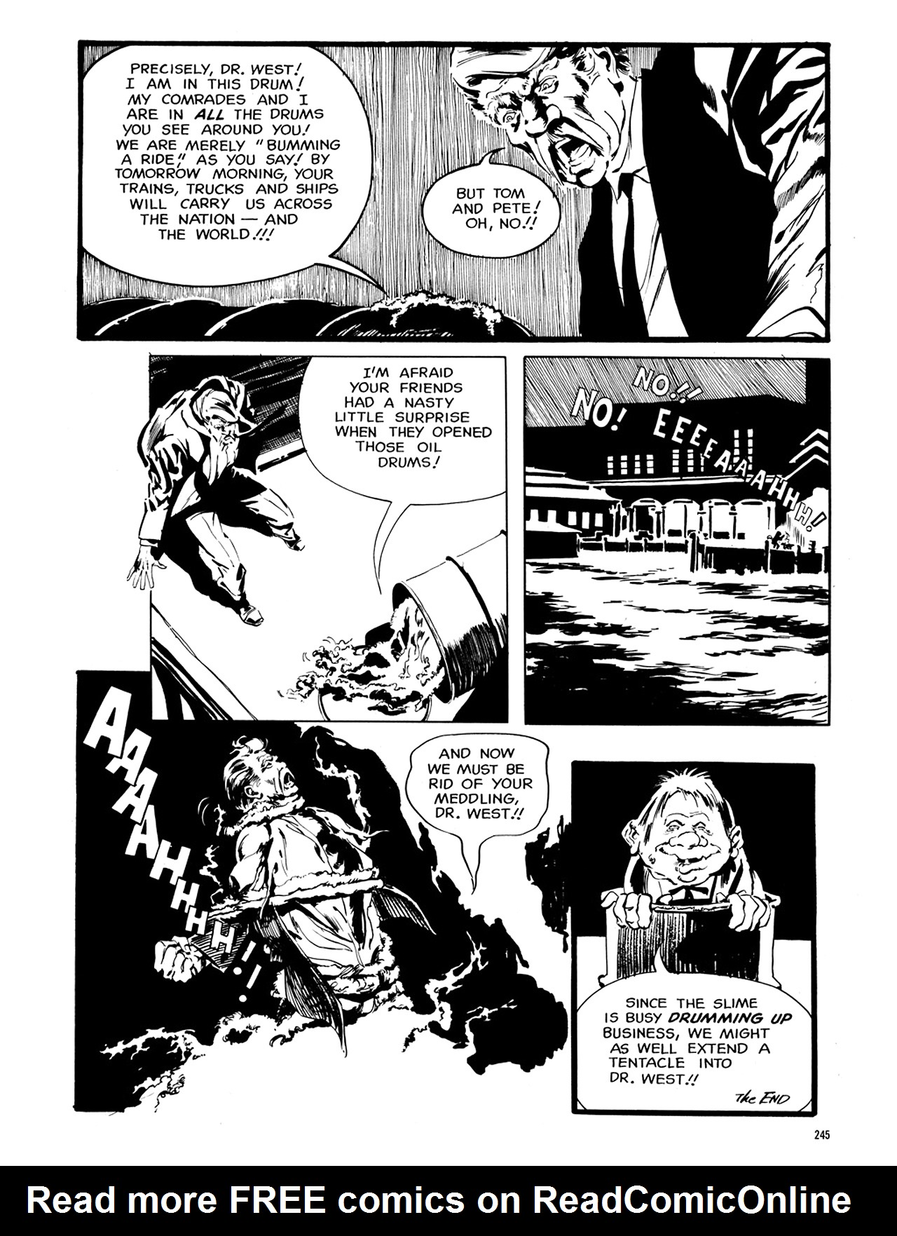 Read online Eerie Archives comic -  Issue # TPB 6 - 244