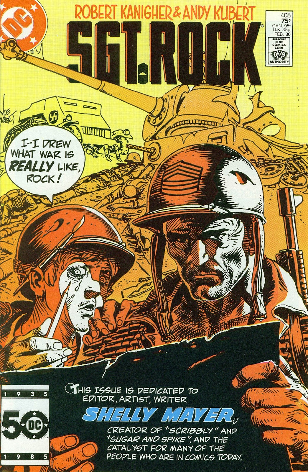 Sgt. Rock issue 408 - Page 1