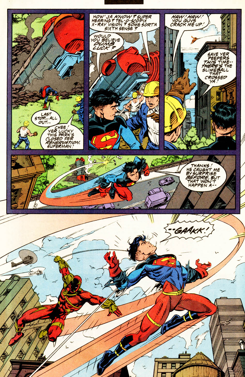 Read online Adventures of Superman (1987) comic -  Issue #502 - 16