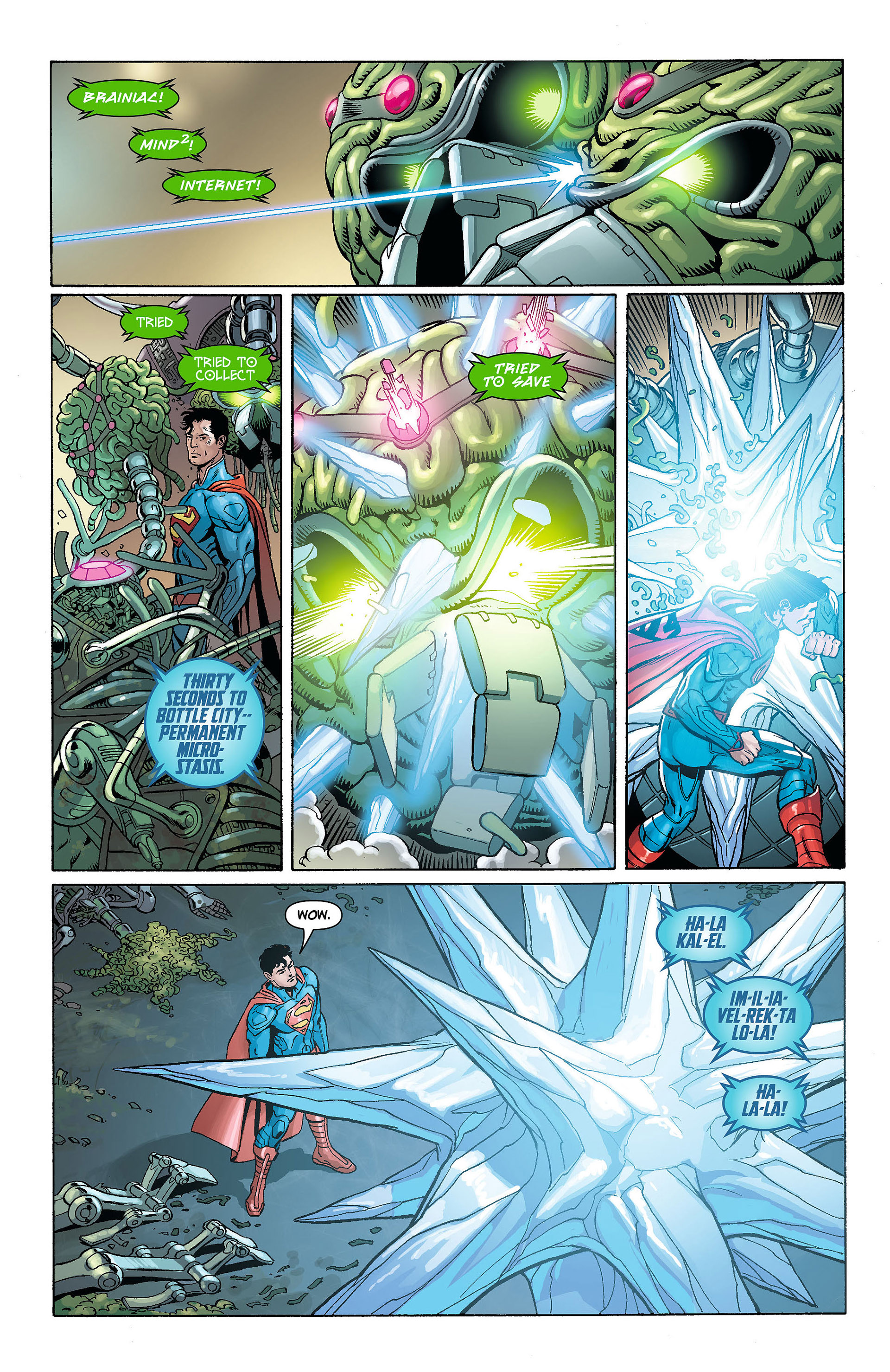 Read online Action Comics (2011) comic -  Issue #8 - 17
