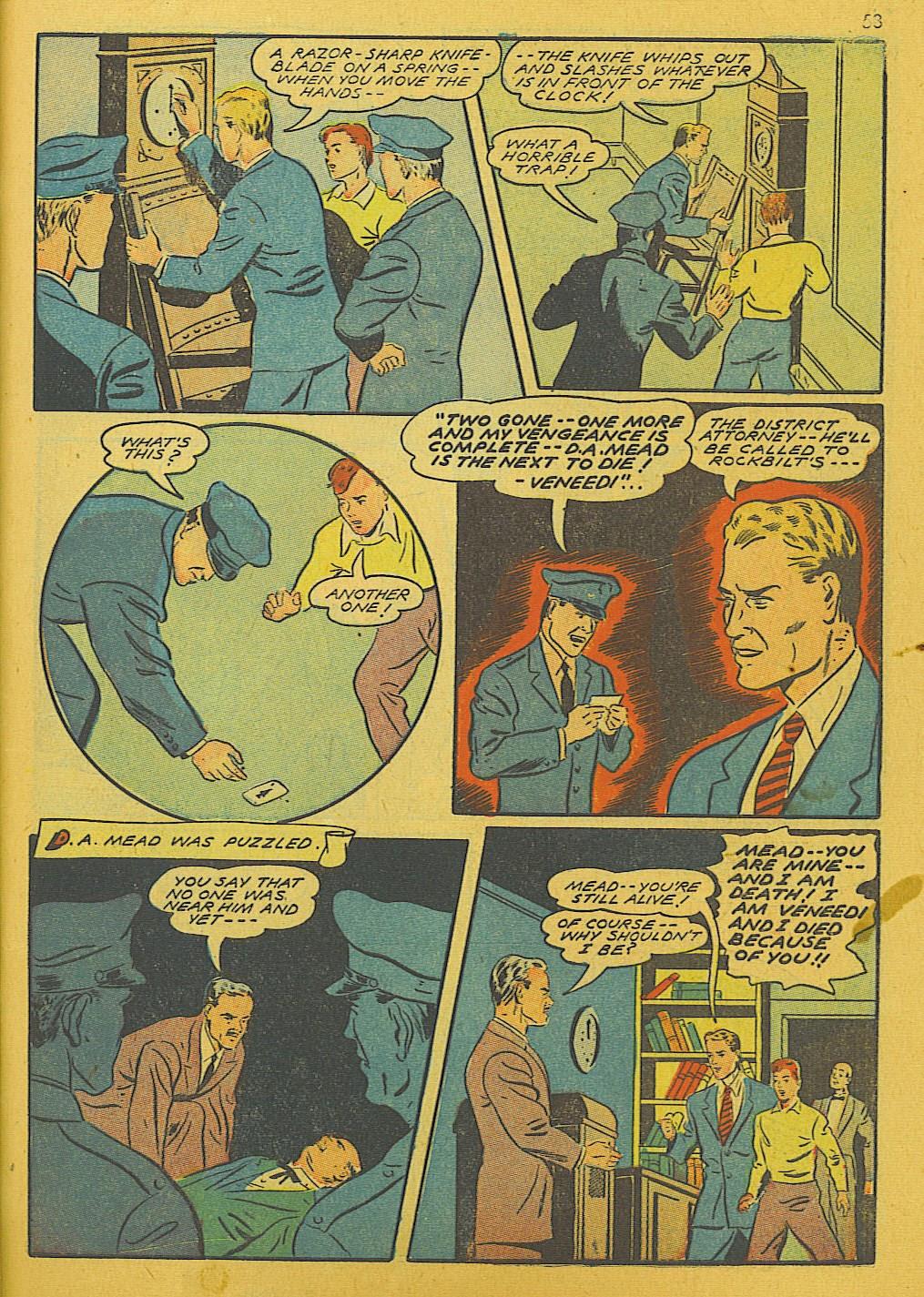 Read online Super-Magician Comics comic -  Issue #10 - 53