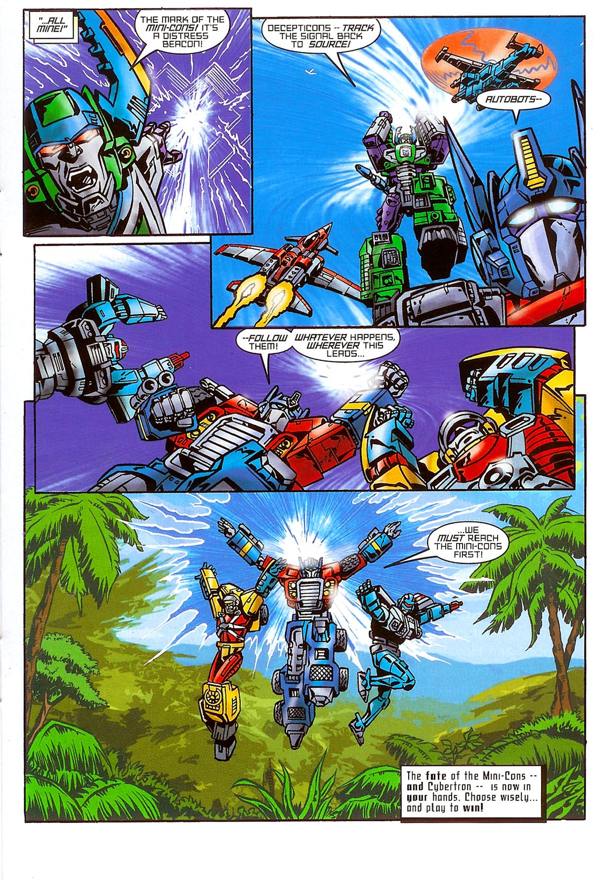 Read online Transformers: The Balance of Power comic -  Issue # Full - 14