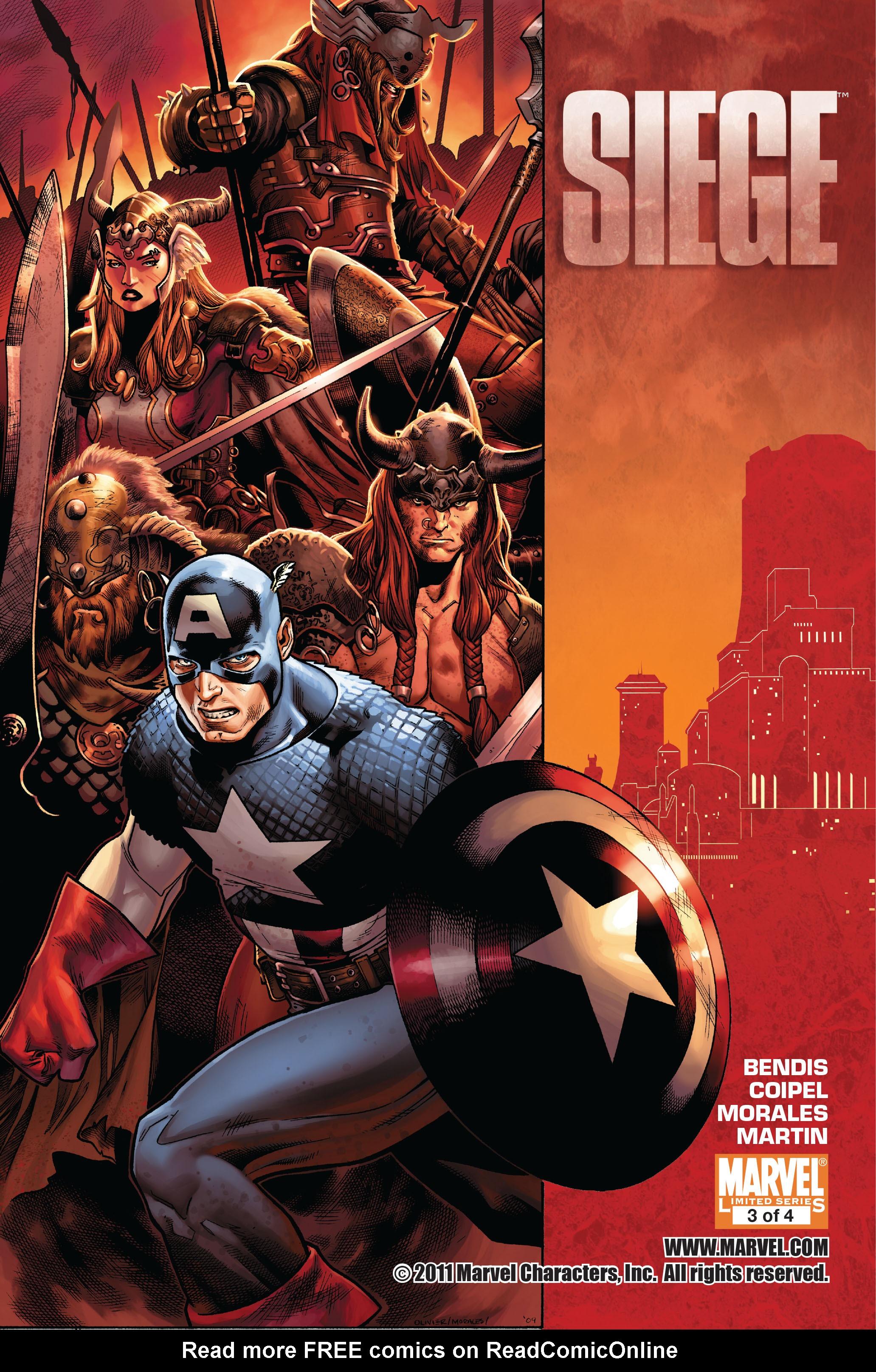 Read online Siege (2010) comic -  Issue #3 - 1