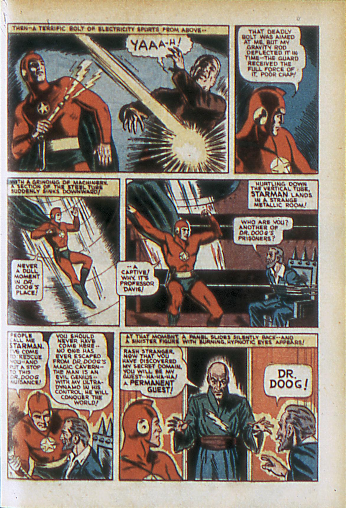 Read online Adventure Comics (1938) comic -  Issue #61 - 10