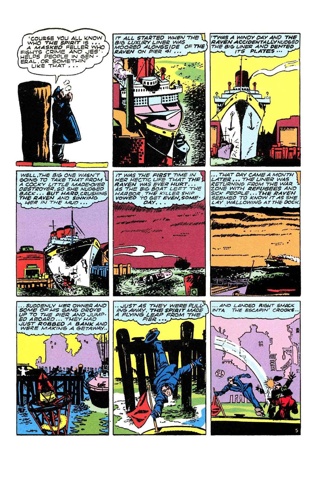 Read online Will Eisner's The Spirit Archives comic -  Issue # TPB 2 (Part 2) - 25