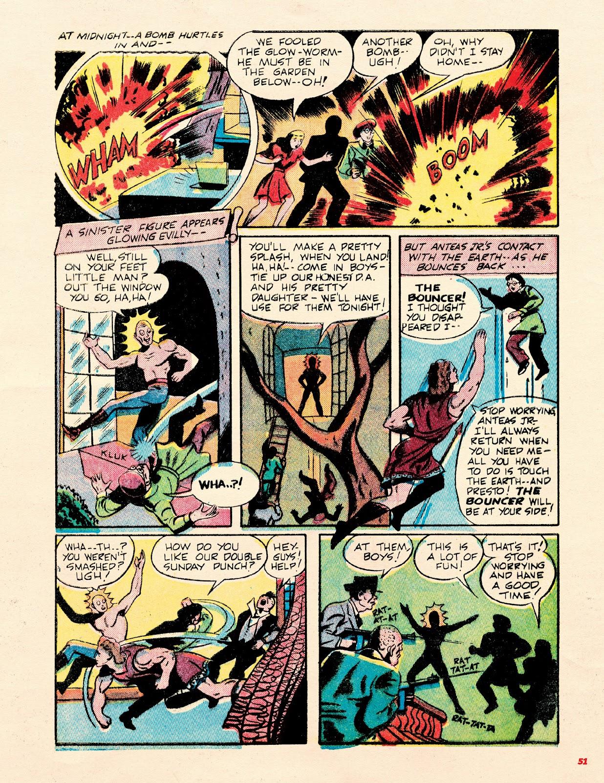 Read online Super Weird Heroes comic -  Issue # TPB 2 (Part 1) - 51