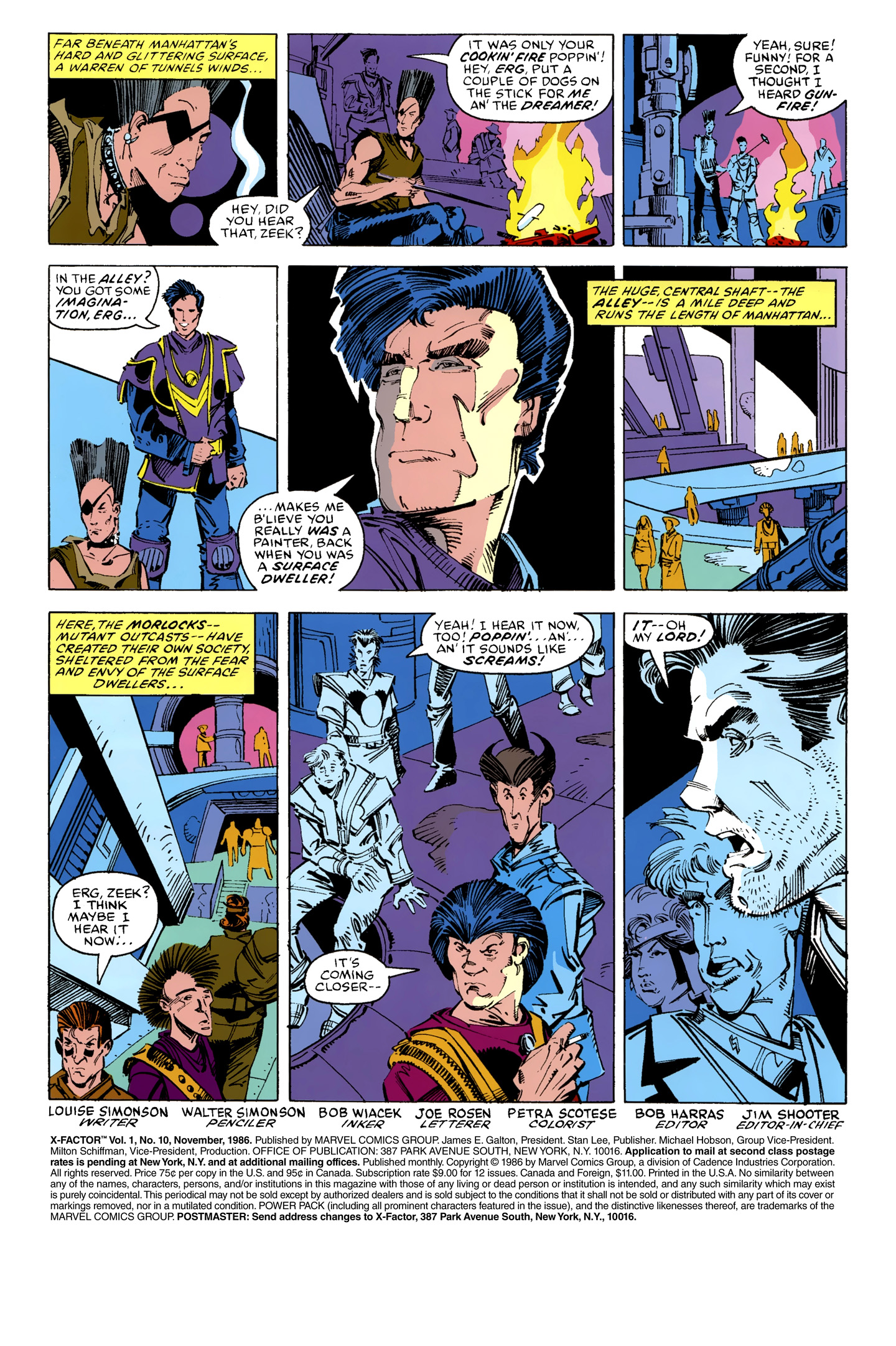 Read online X-Factor (1986) comic -  Issue #10 - 2