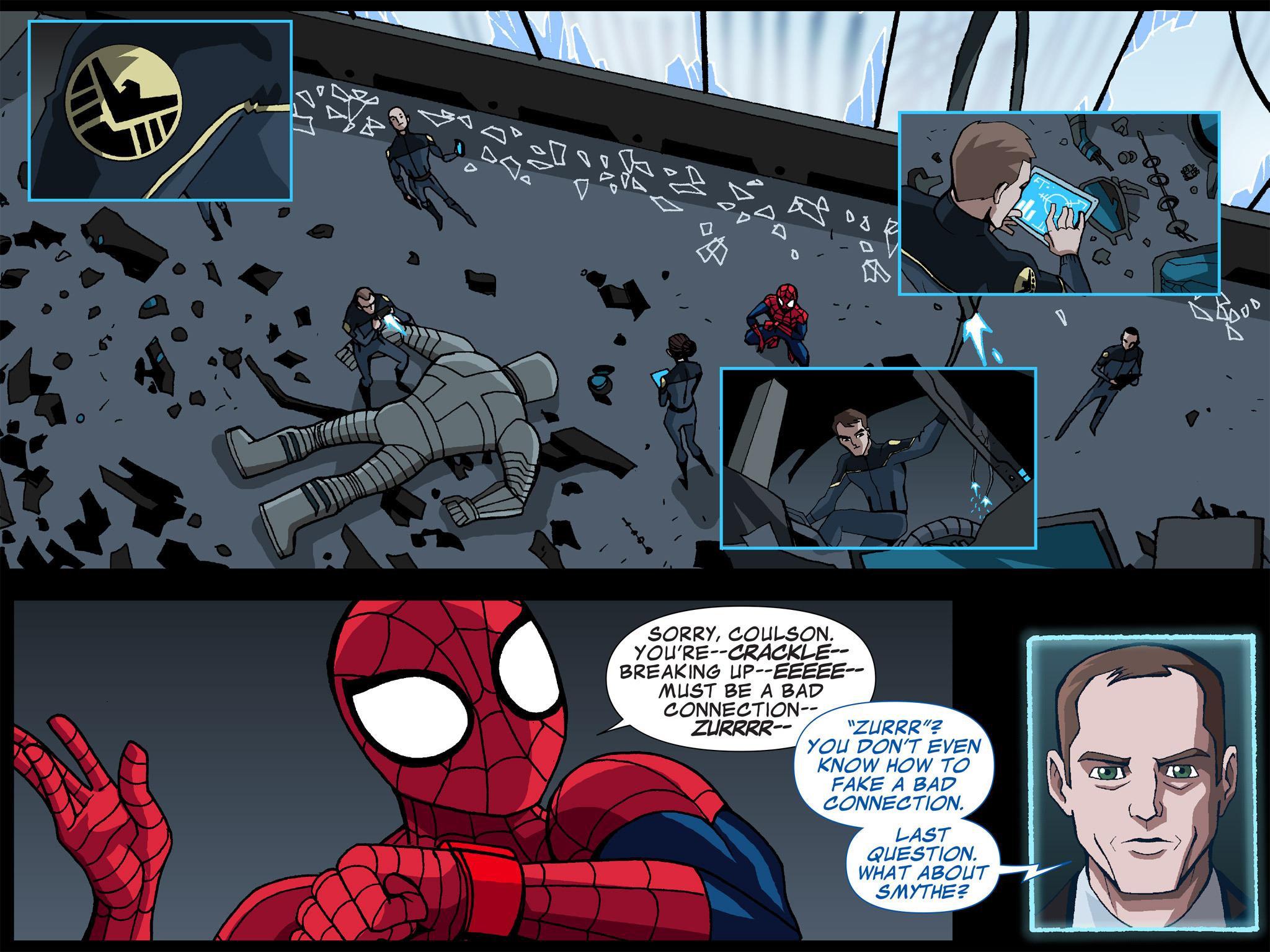 Read online Ultimate Spider-Man (Infinite Comics) (2015) comic -  Issue #5 - 10