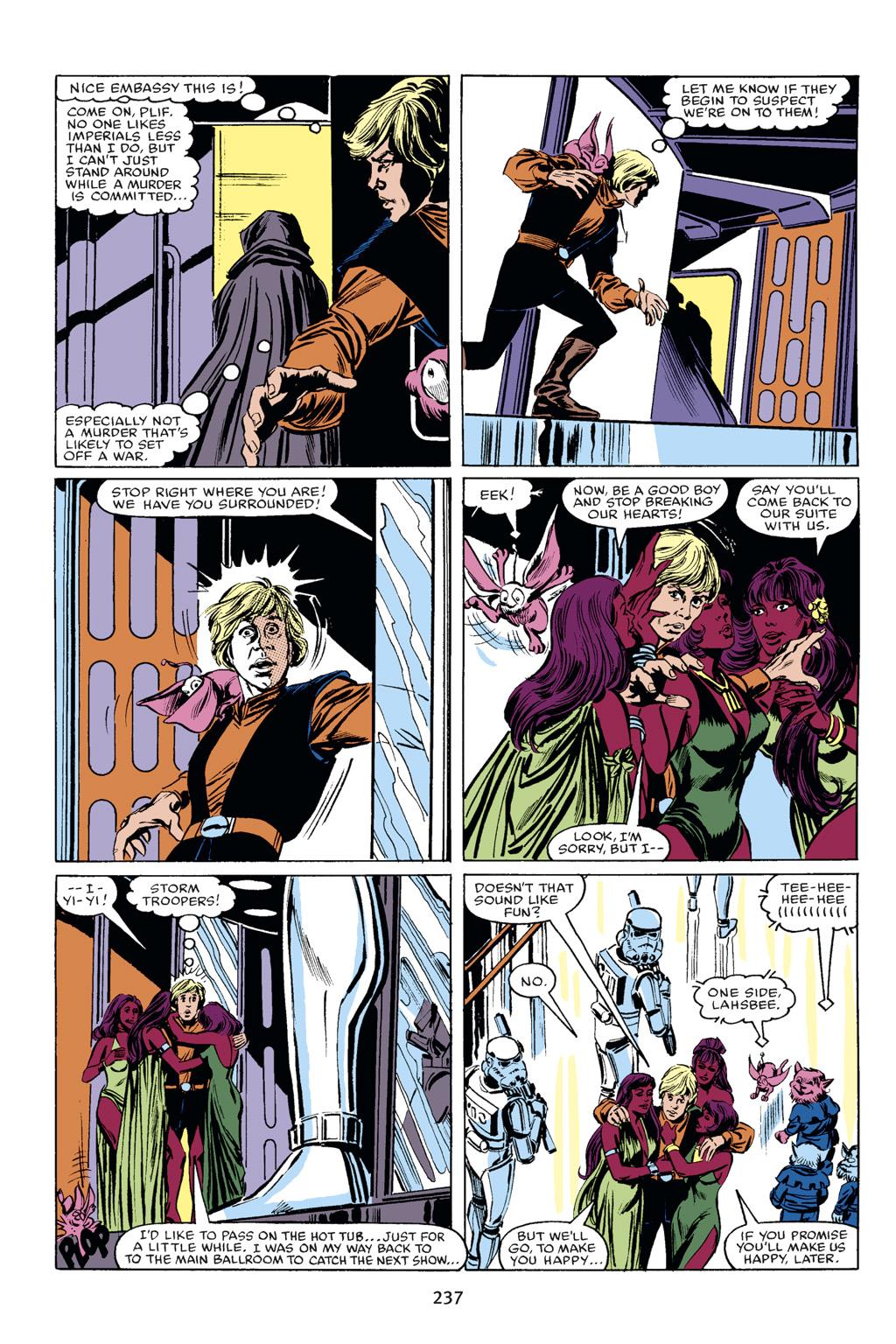 Read online Star Wars Omnibus comic -  Issue # Vol. 18 - 223