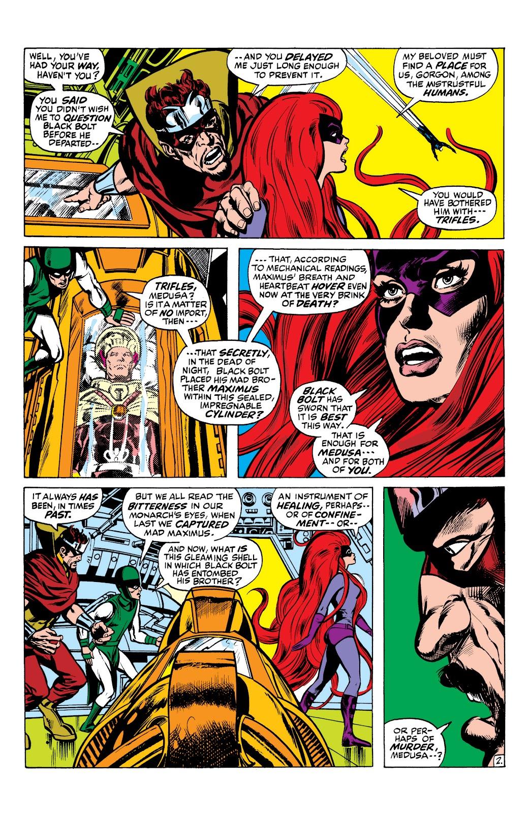 Read online Marvel Masterworks: The Inhumans comic -  Issue # TPB 1 (Part 2) - 15
