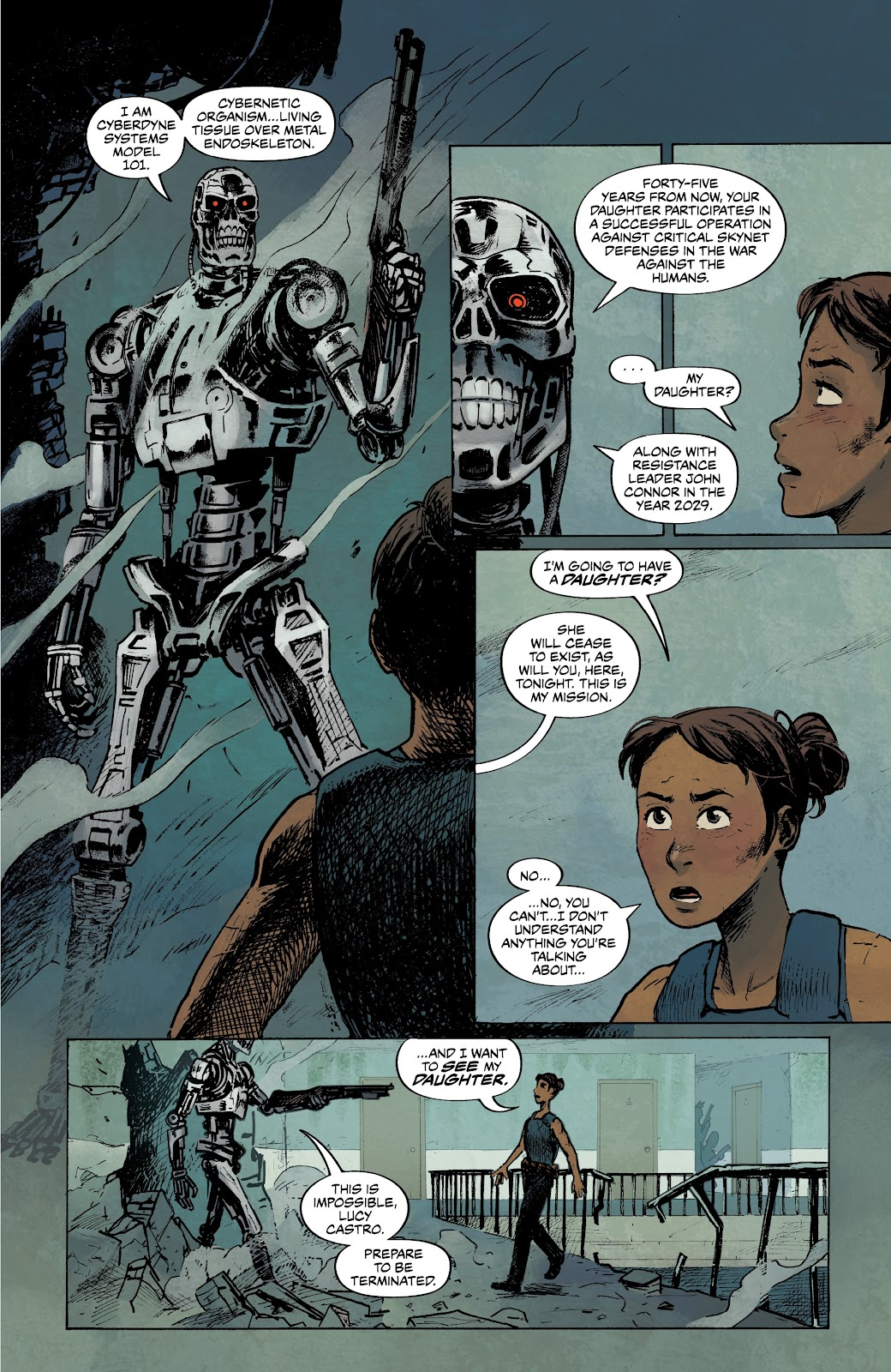 Read online The Terminator: Sector War comic -  Issue #3 - 16