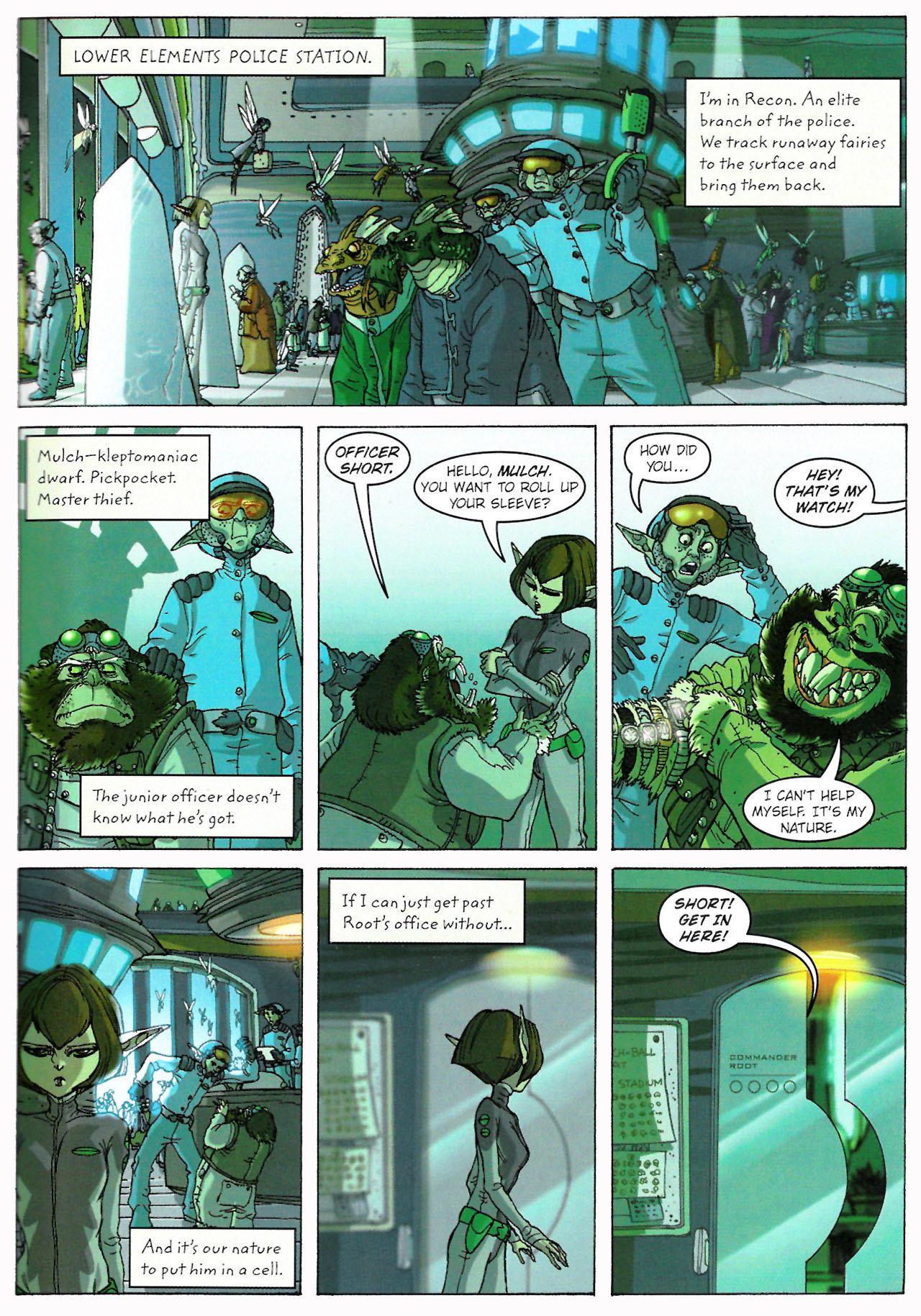 Read online Artemis Fowl: The Graphic Novel comic -  Issue #Artemis Fowl: The Graphic Novel Full - 22