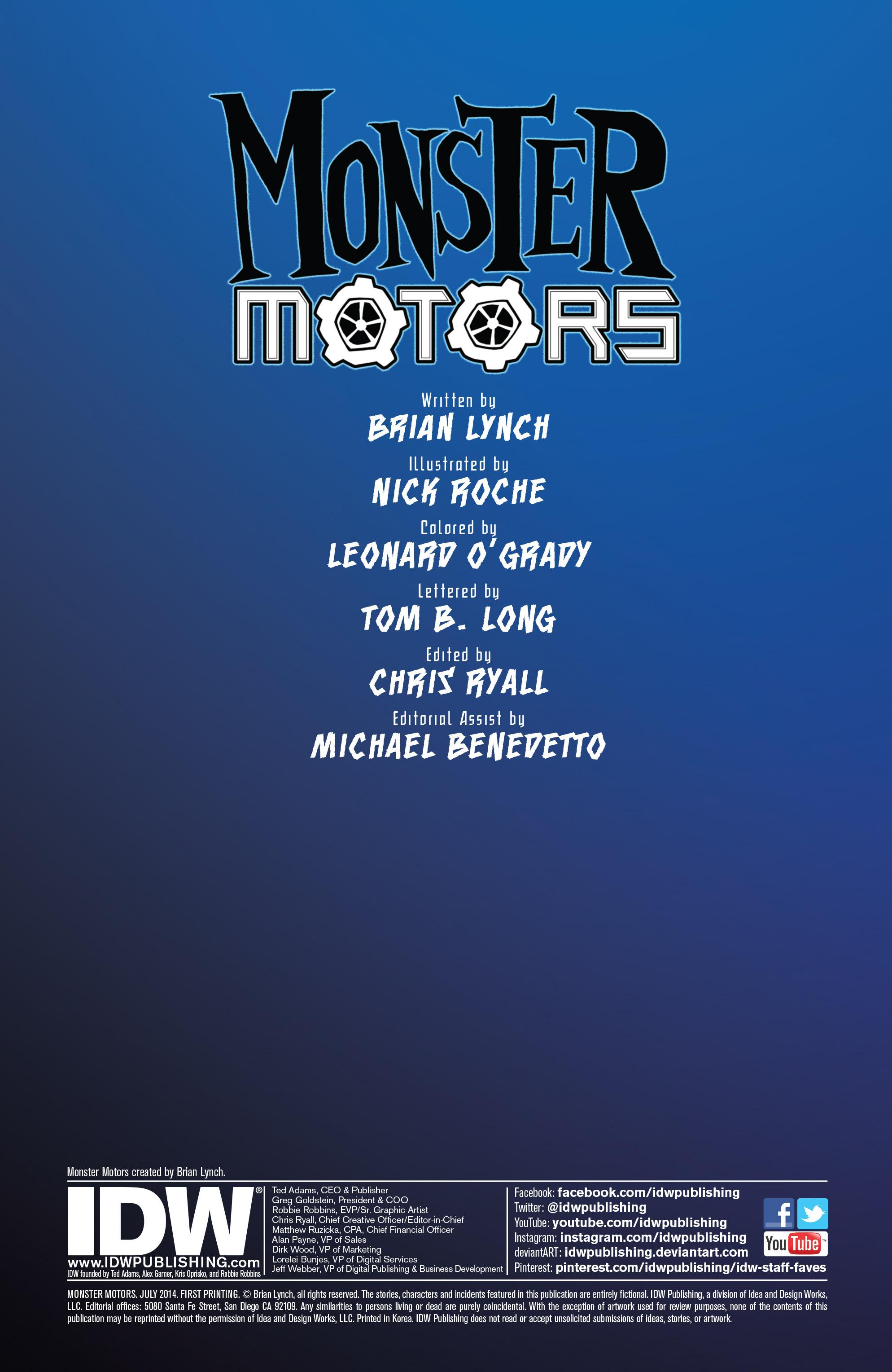 Read online Monster Motors comic -  Issue # Full - 2
