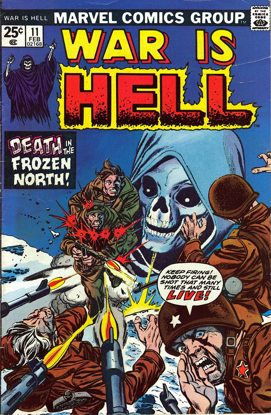 War Is Hell (1973) issue 11 - Page 1