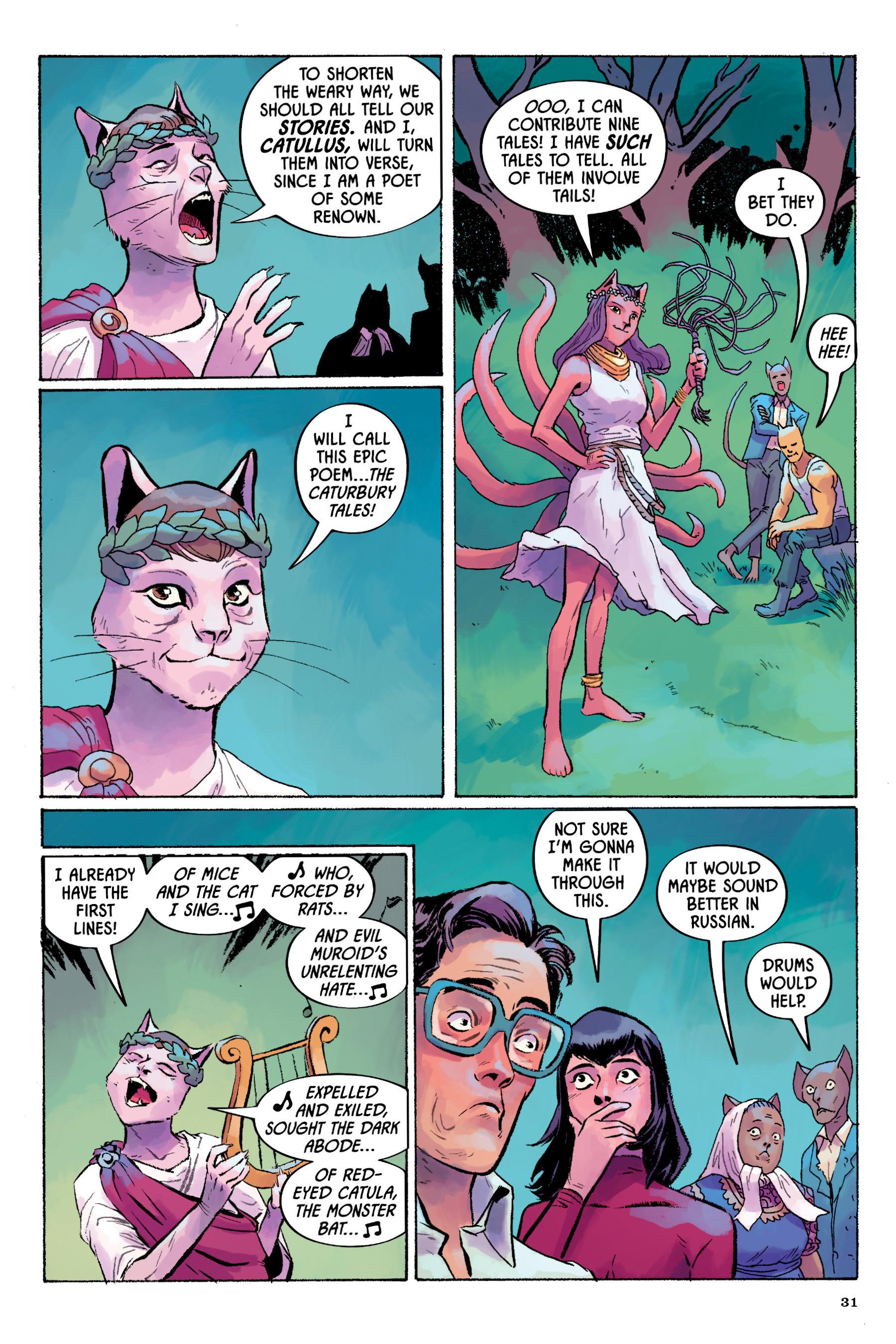 Read online Angel Catbird comic -  Issue # TPB 2 - 32