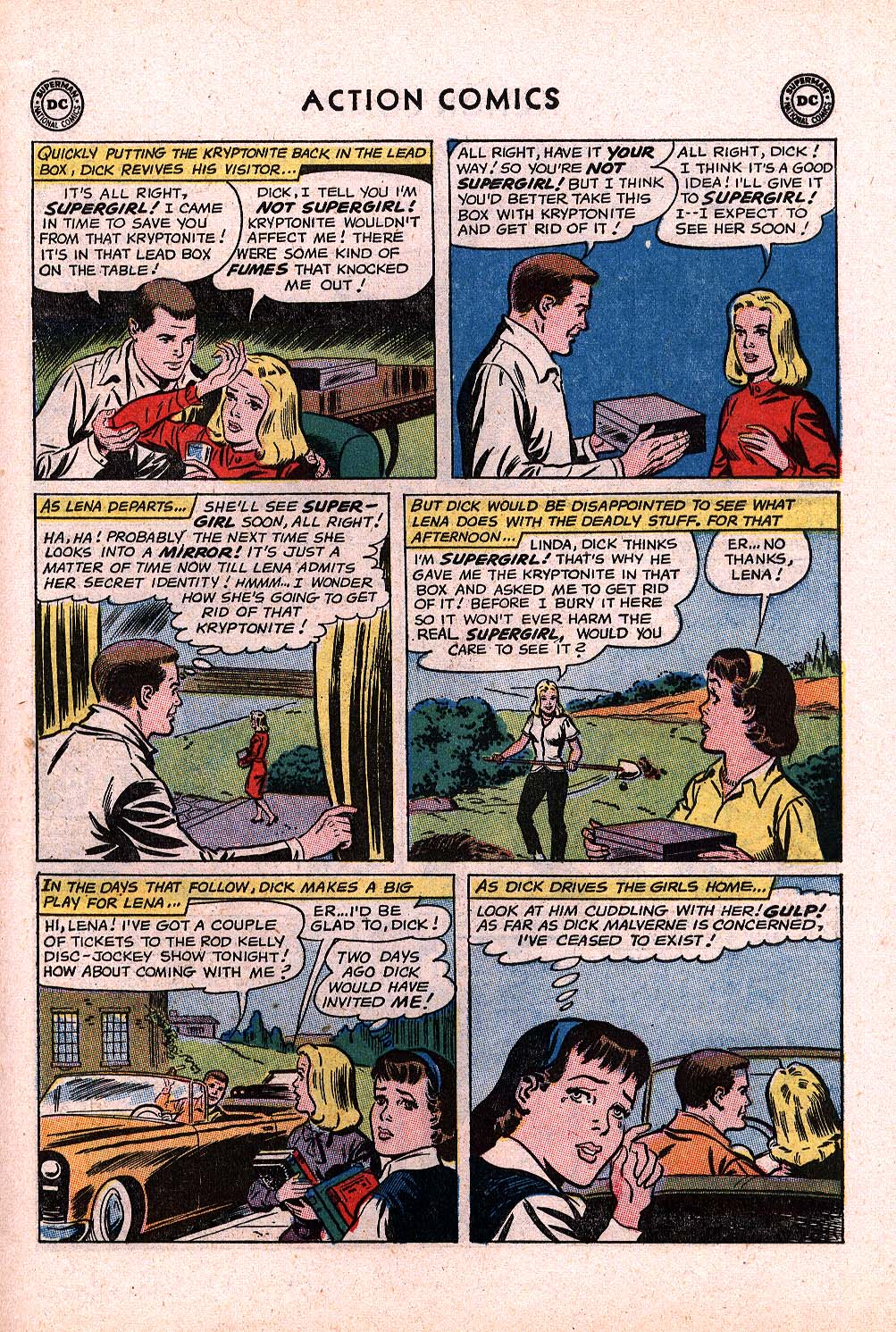 Read online Action Comics (1938) comic -  Issue #296 - 27