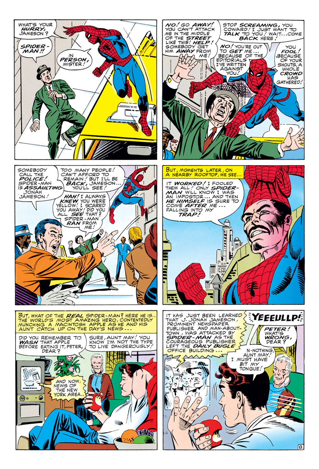 The Amazing Spider-Man (1963) 34 Page 8