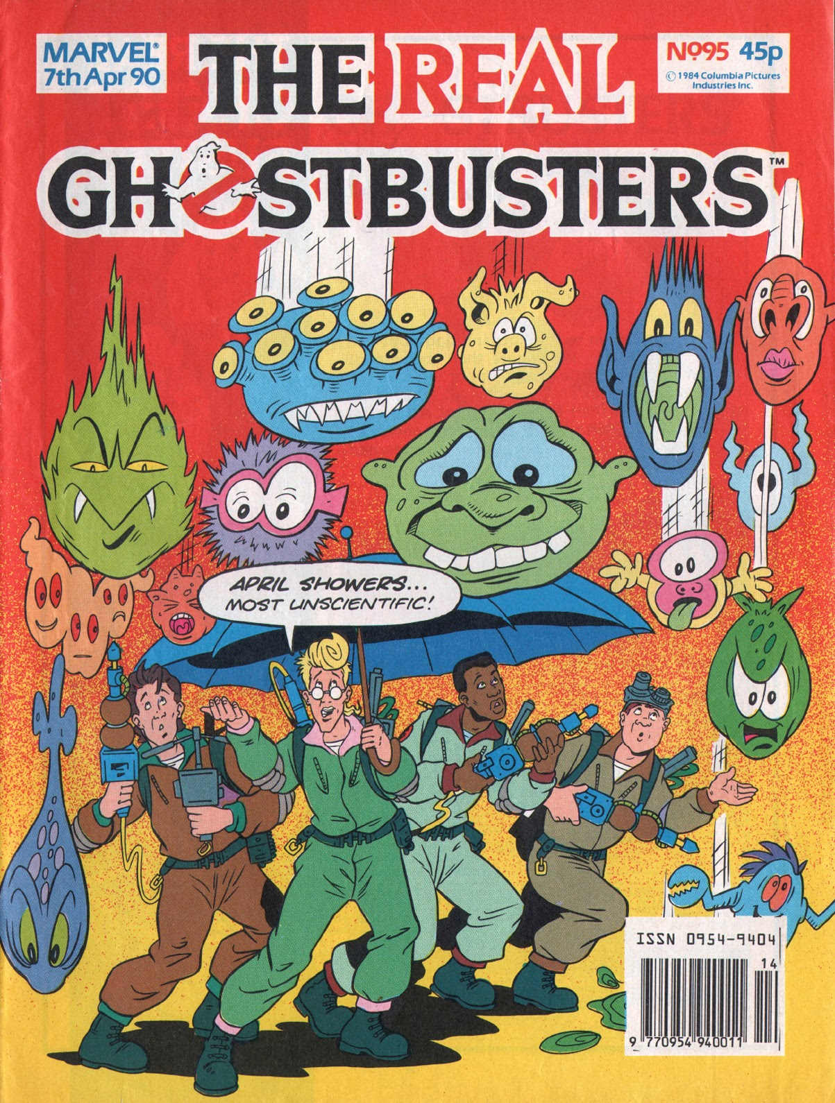 The Real Ghostbusters 95 Page 1