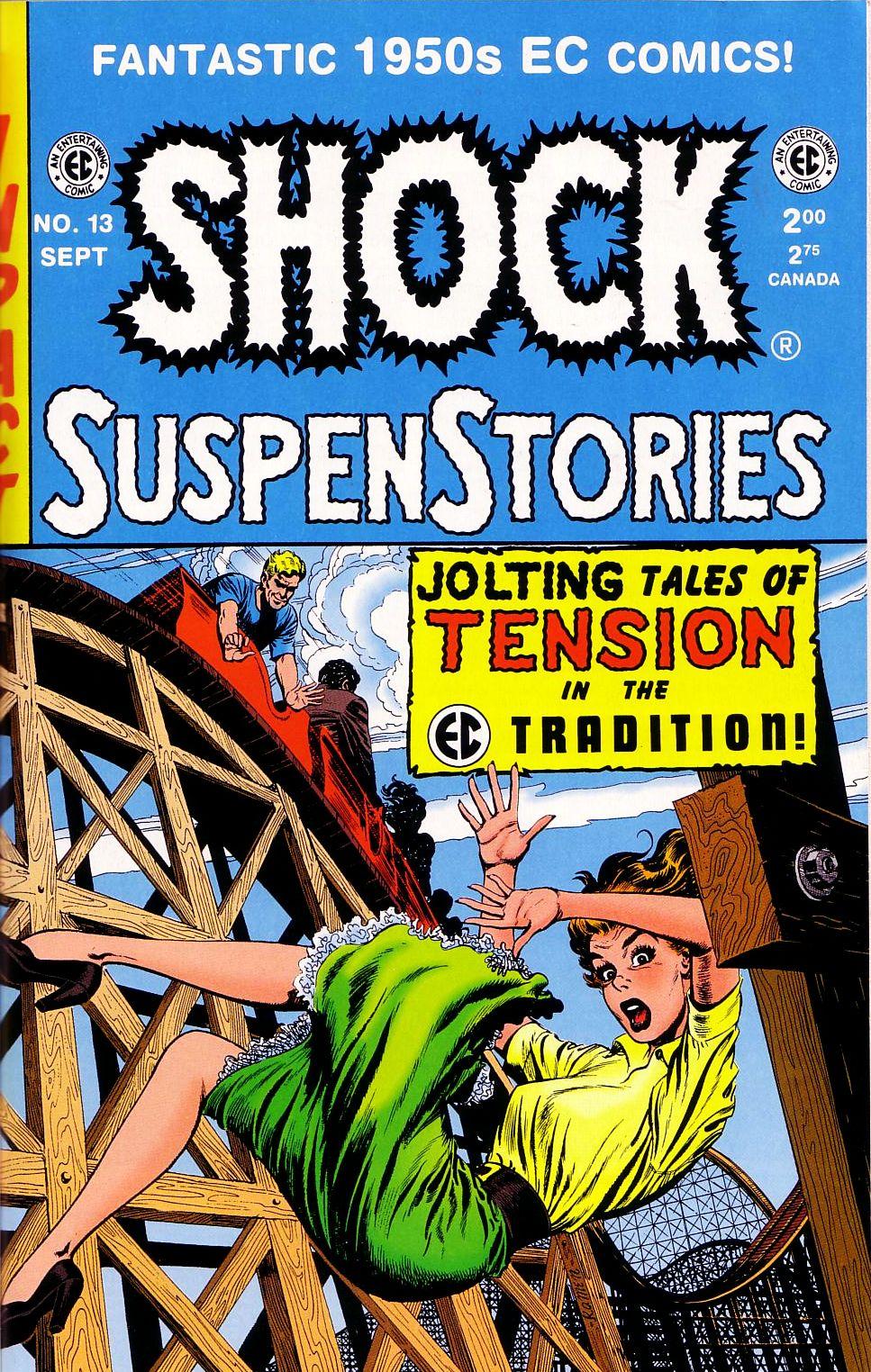 Read online Shock SuspenStories comic -  Issue #13 - 1