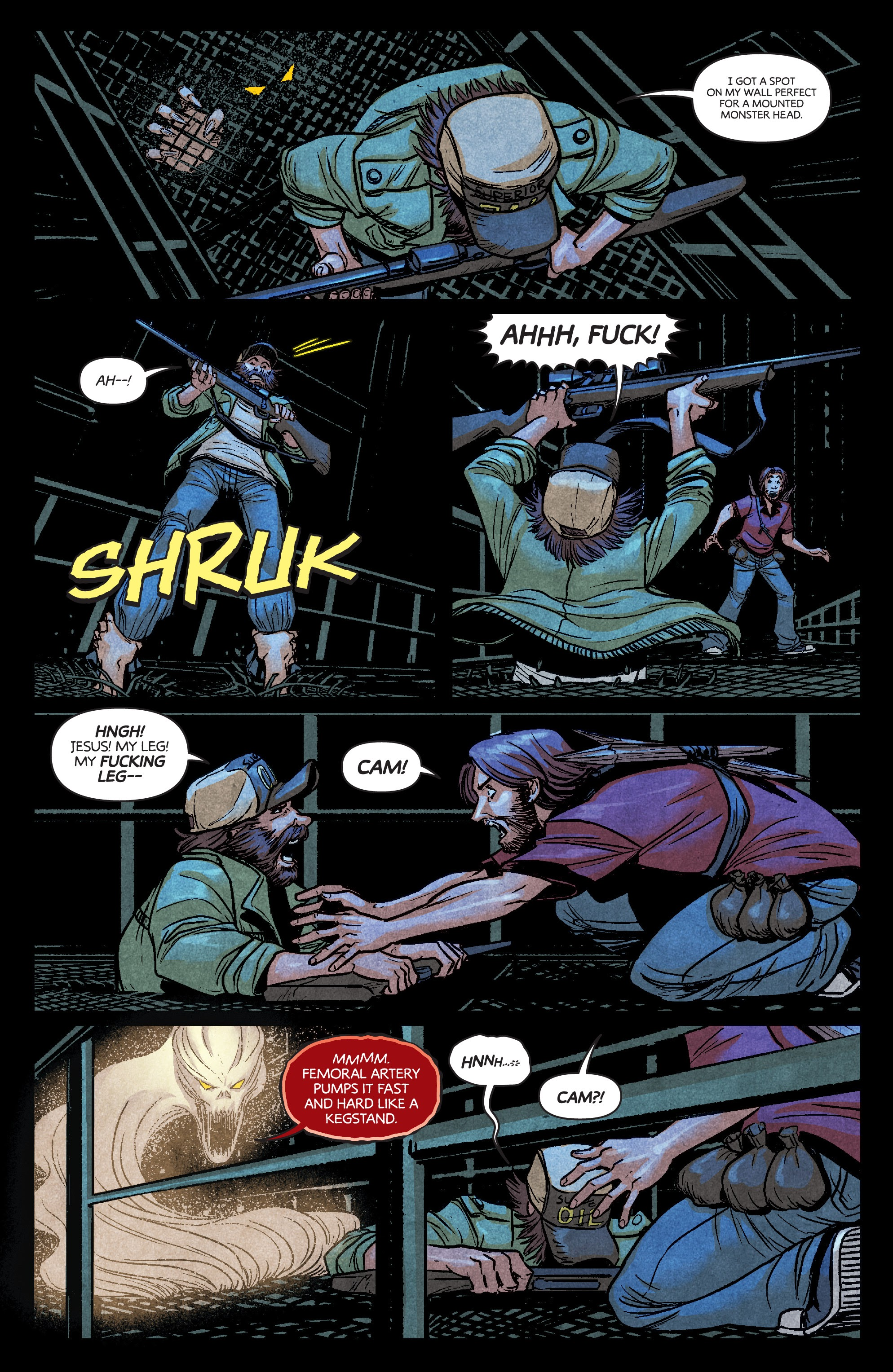 Read online Dark Red comic -  Issue #4 - 18