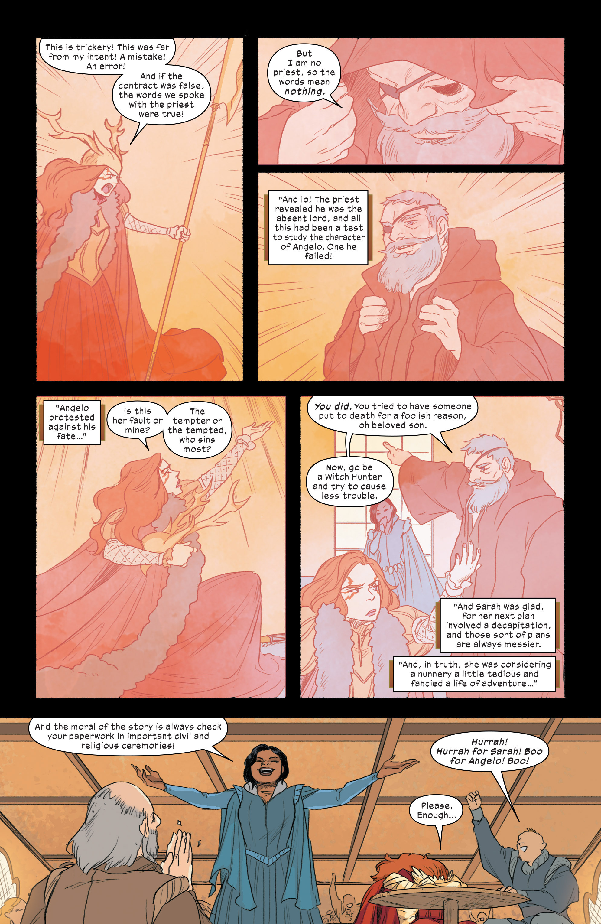 Read online 1602 Witch Hunter Angela comic -  Issue #2 - 14