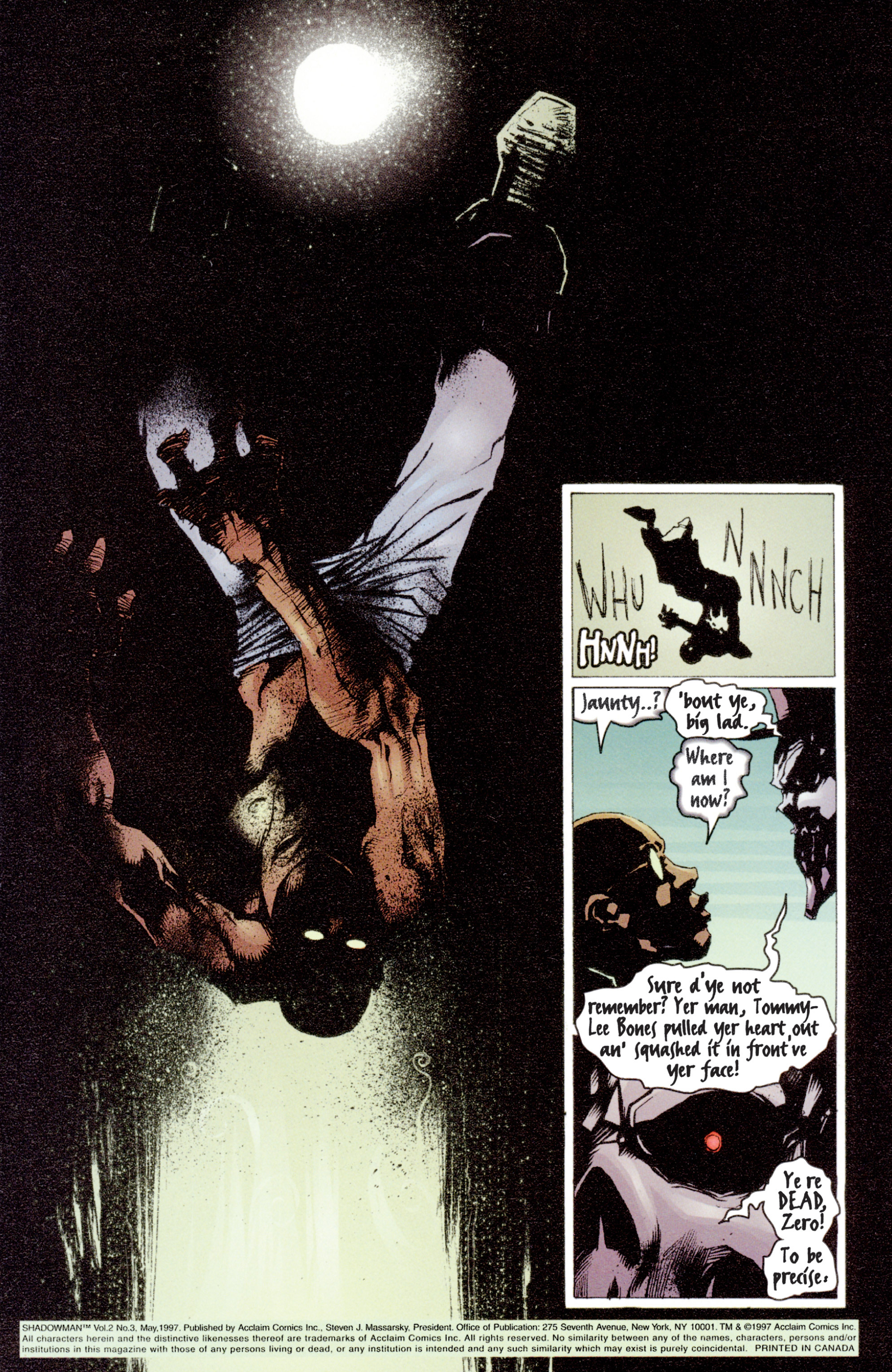 Read online Shadowman (1997) comic -  Issue #3 - 2